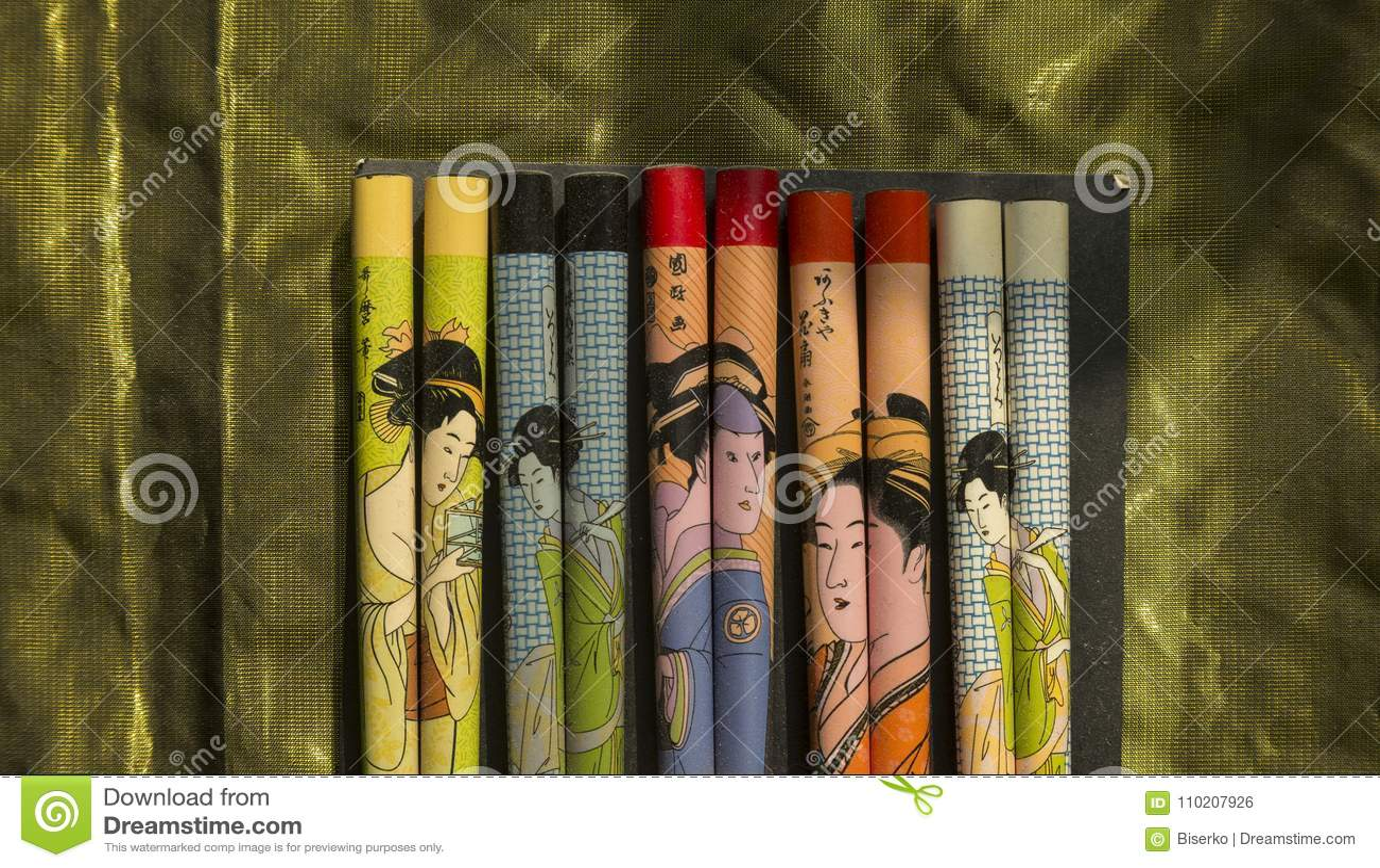 Japanska kotlettpinnar
