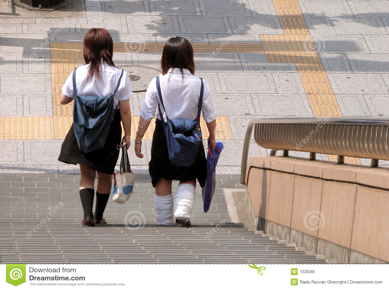 Japanska schoolgirls