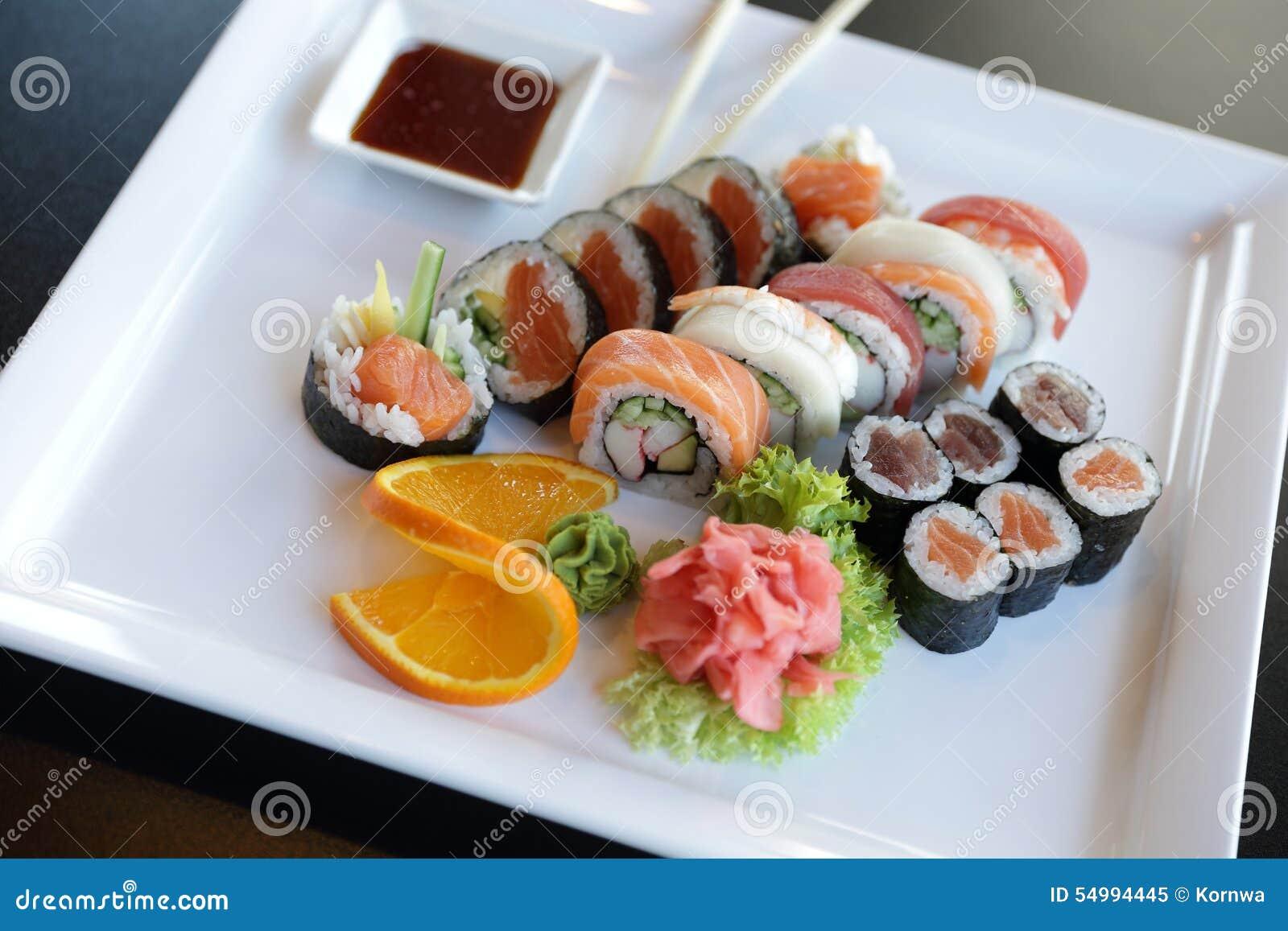 Japanska sushi