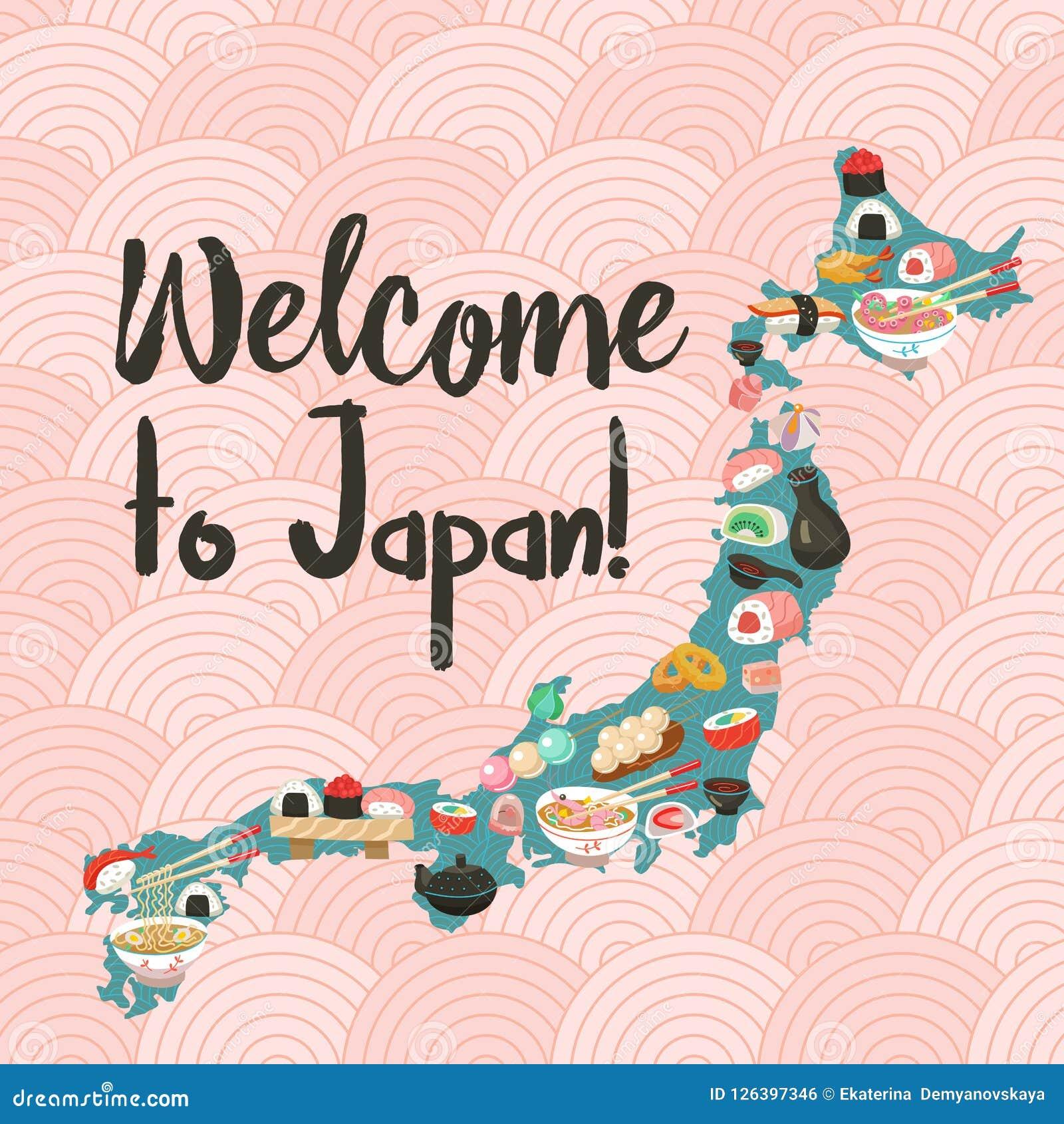 Japońska kuchnia Japoński szef kuchni Set Japoński tradycyjny dis