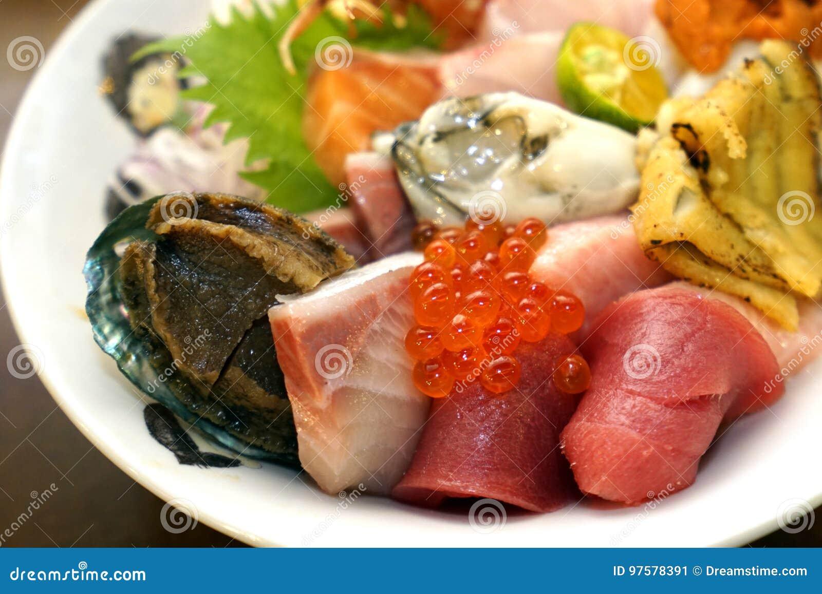 Japoński sashimi