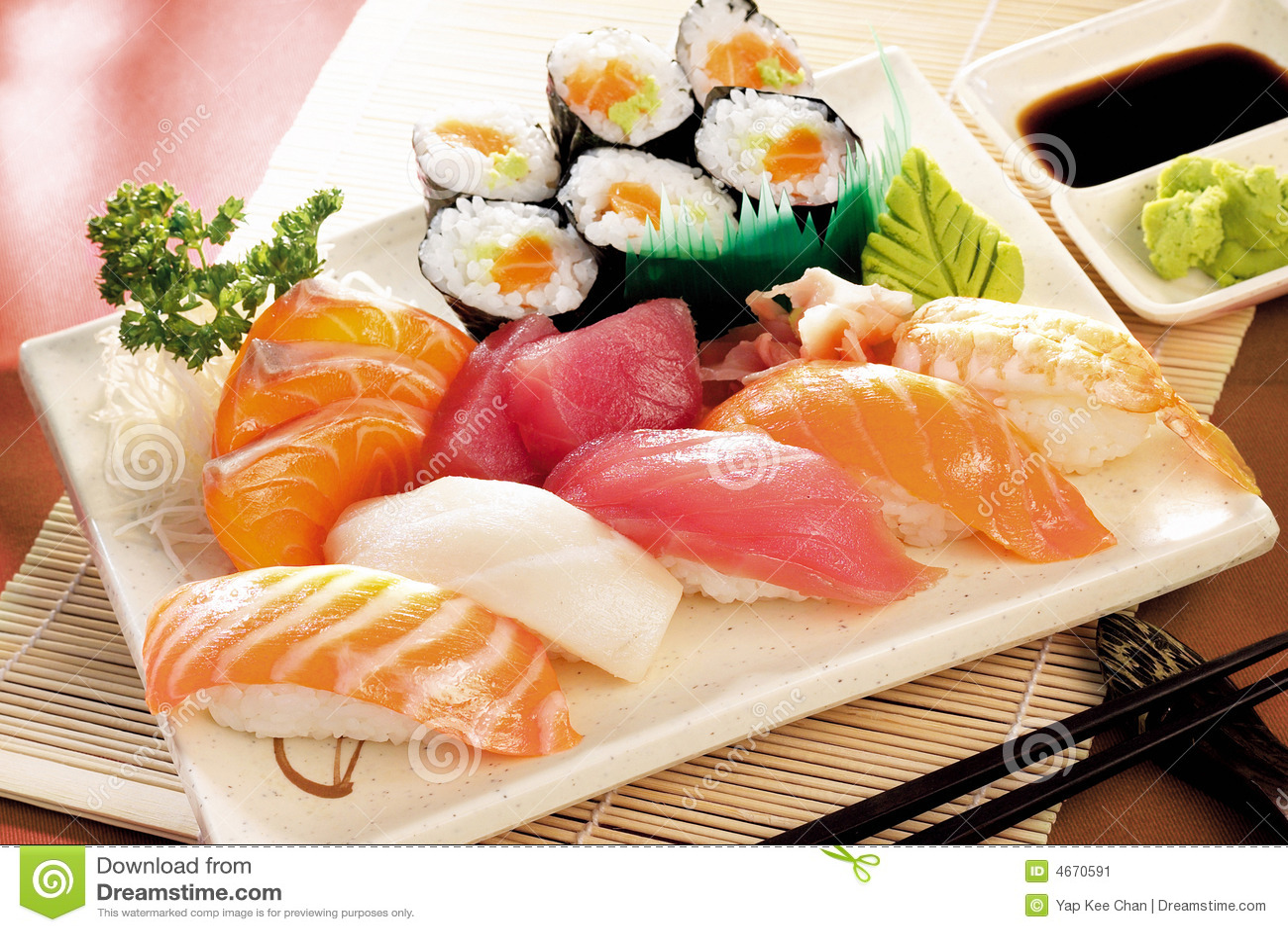 Japoński sushi