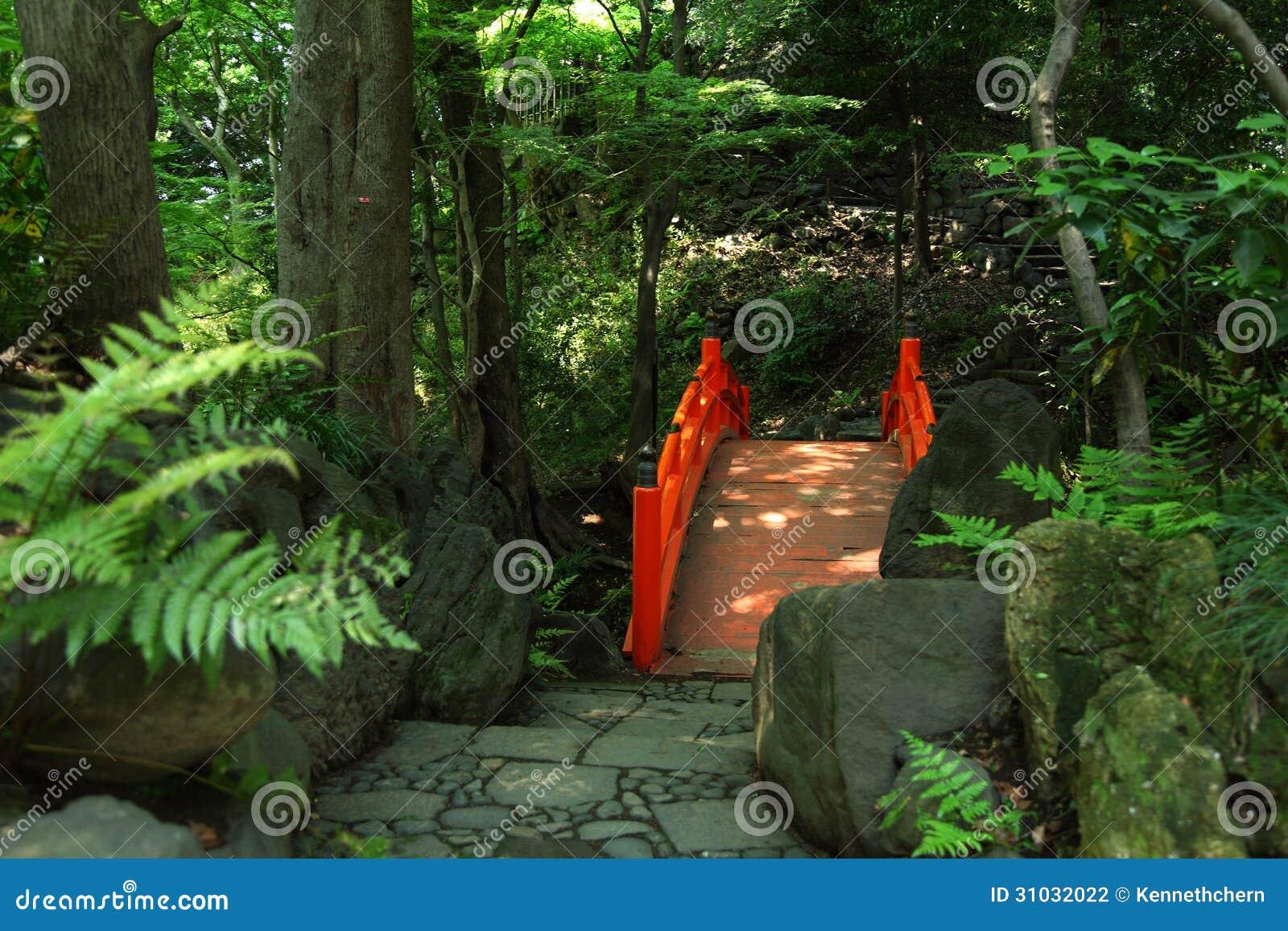 Japoński Tradycyjny ogród