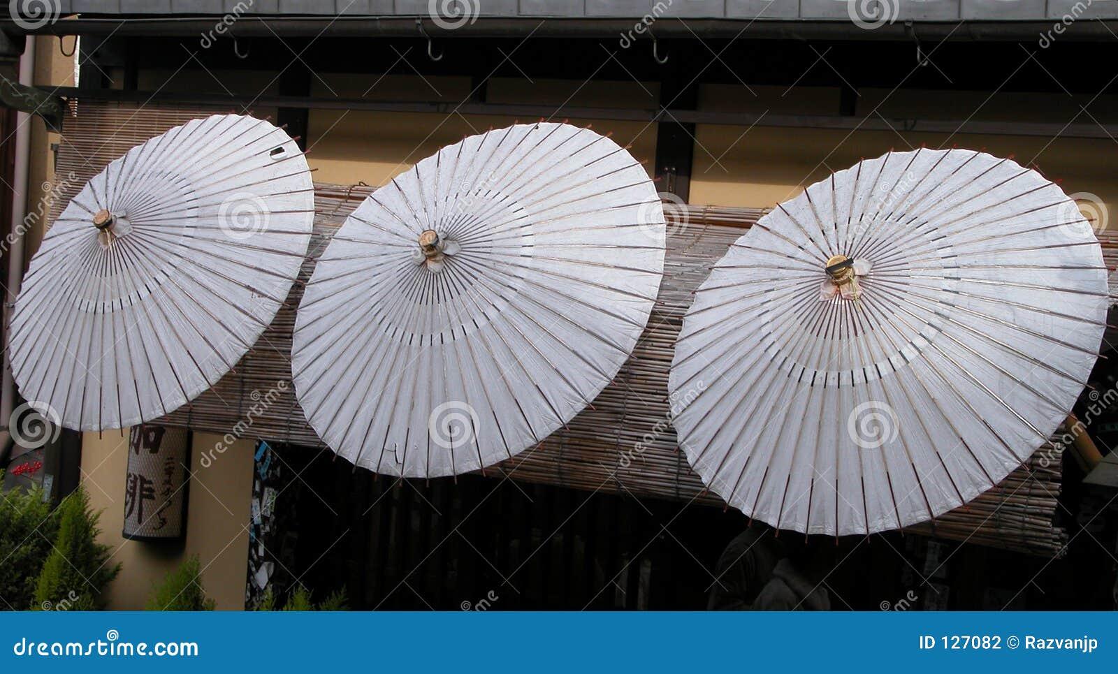 Japońskie parasole