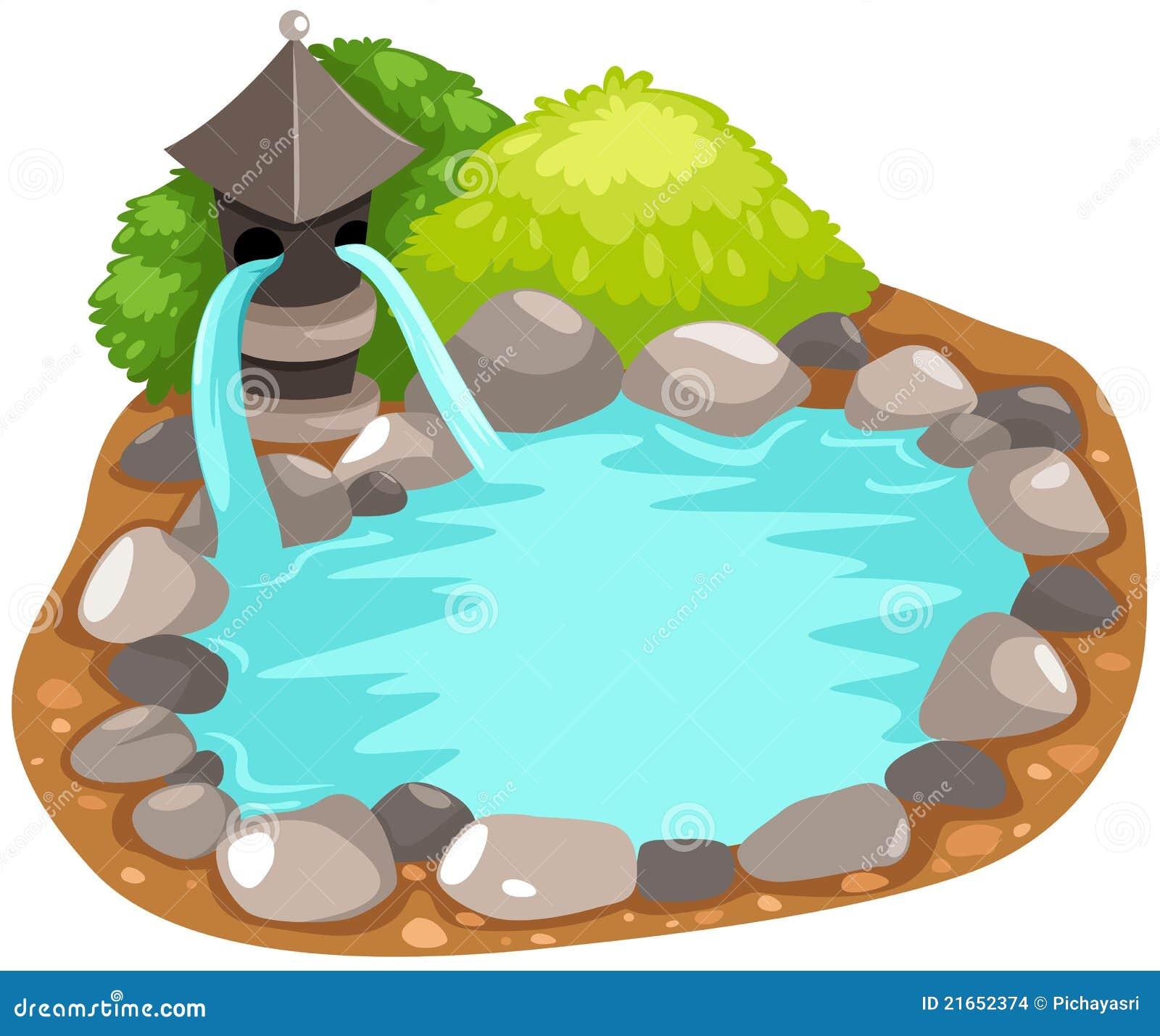 Japonais de fontaine