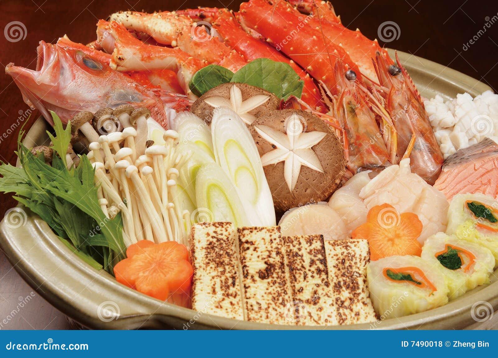 Japonais de nourriture photo stock image du asie for Poisson japonais nourriture