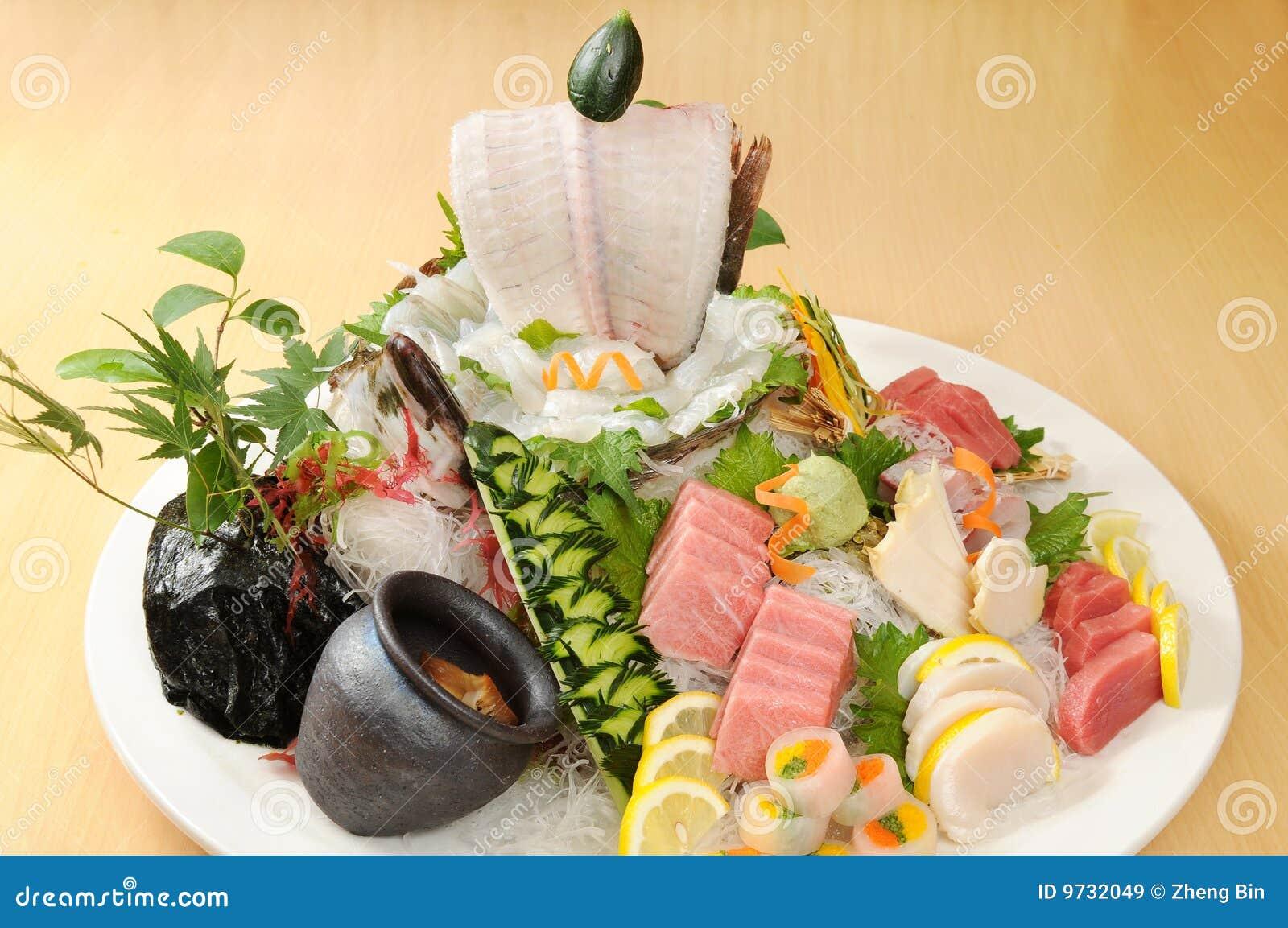 Japonais de nourriture image stock image du d licieux for Poisson japonais nourriture