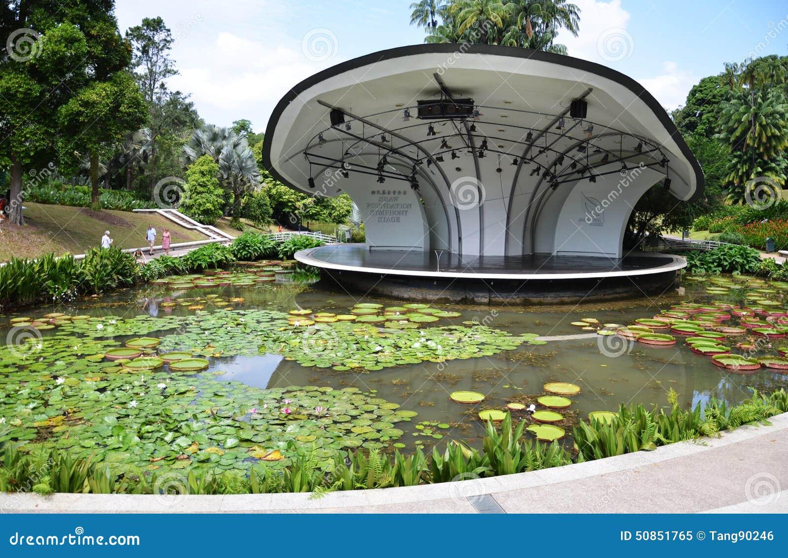 Jardín Botánico De Singapur Imagen editorial - Imagen de enero ...