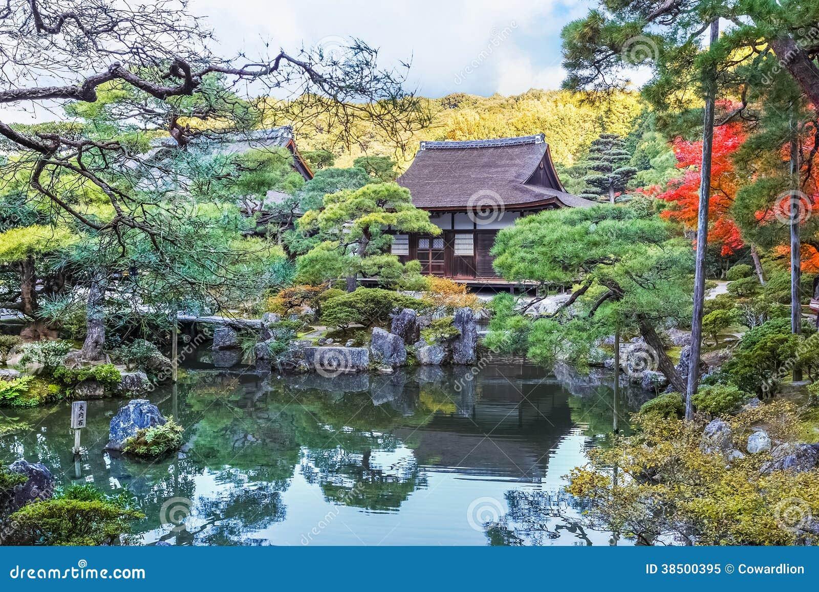 Jardín de Chisen-kaiyushiki en el templo de Ginkaku-ji, Kyoto