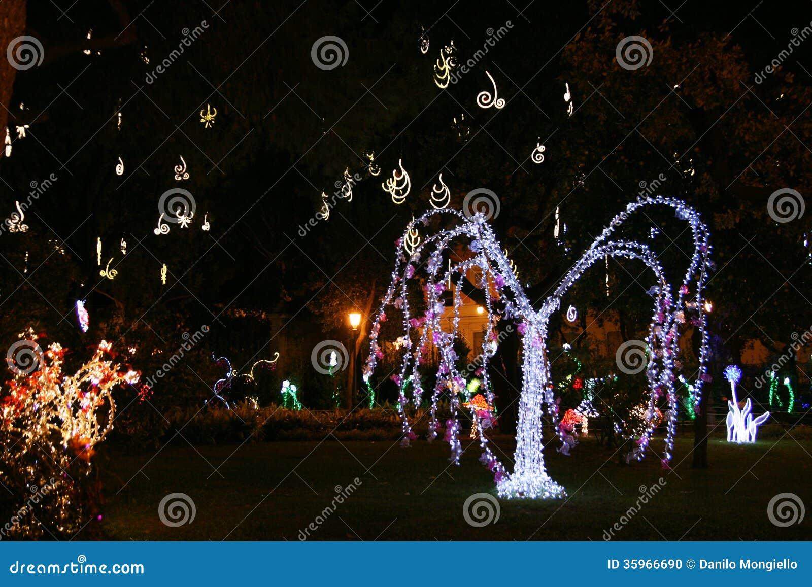 Jardín de la Navidad