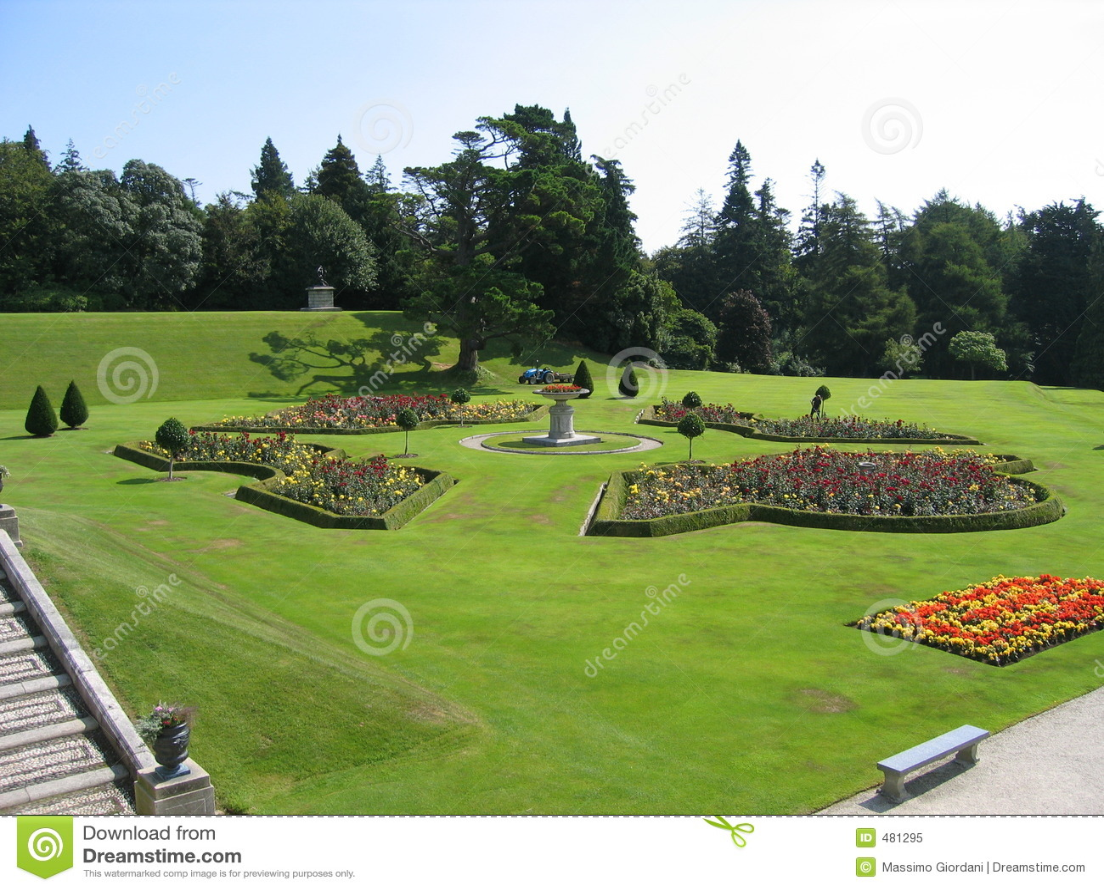 Jardín de Powerscourt