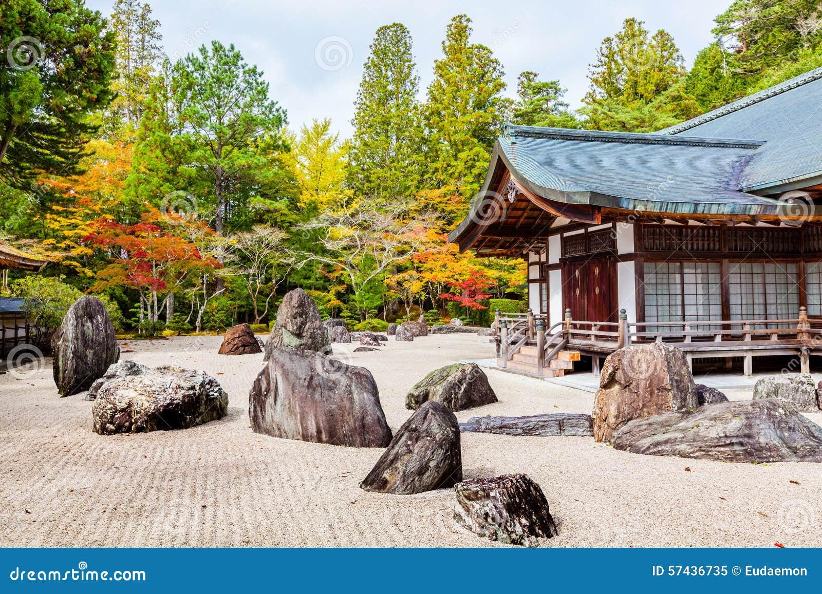 Jardín de roca japonés