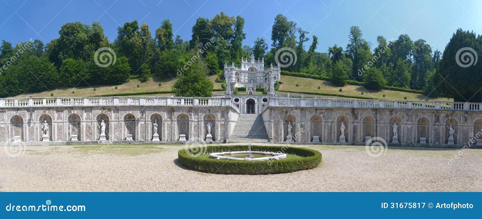 Jardín Del Della Regina El Chalet Del Chalet De La Reina