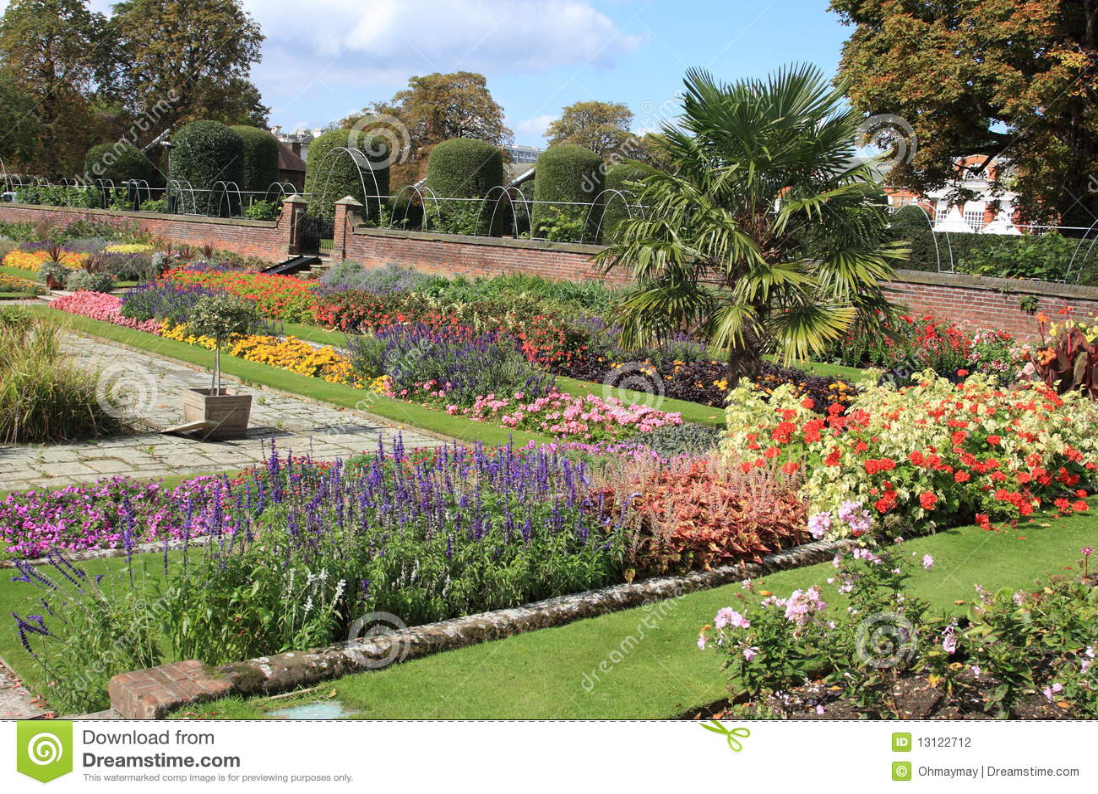 Jard n del palacio de kensington en londres foto de for Jardines de kensington