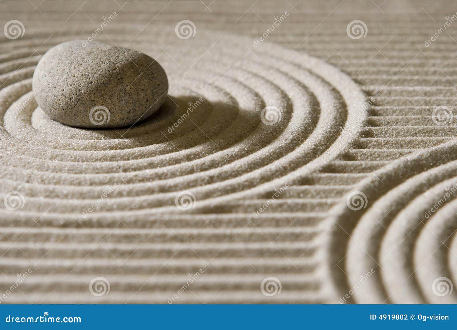 Jardín del zen