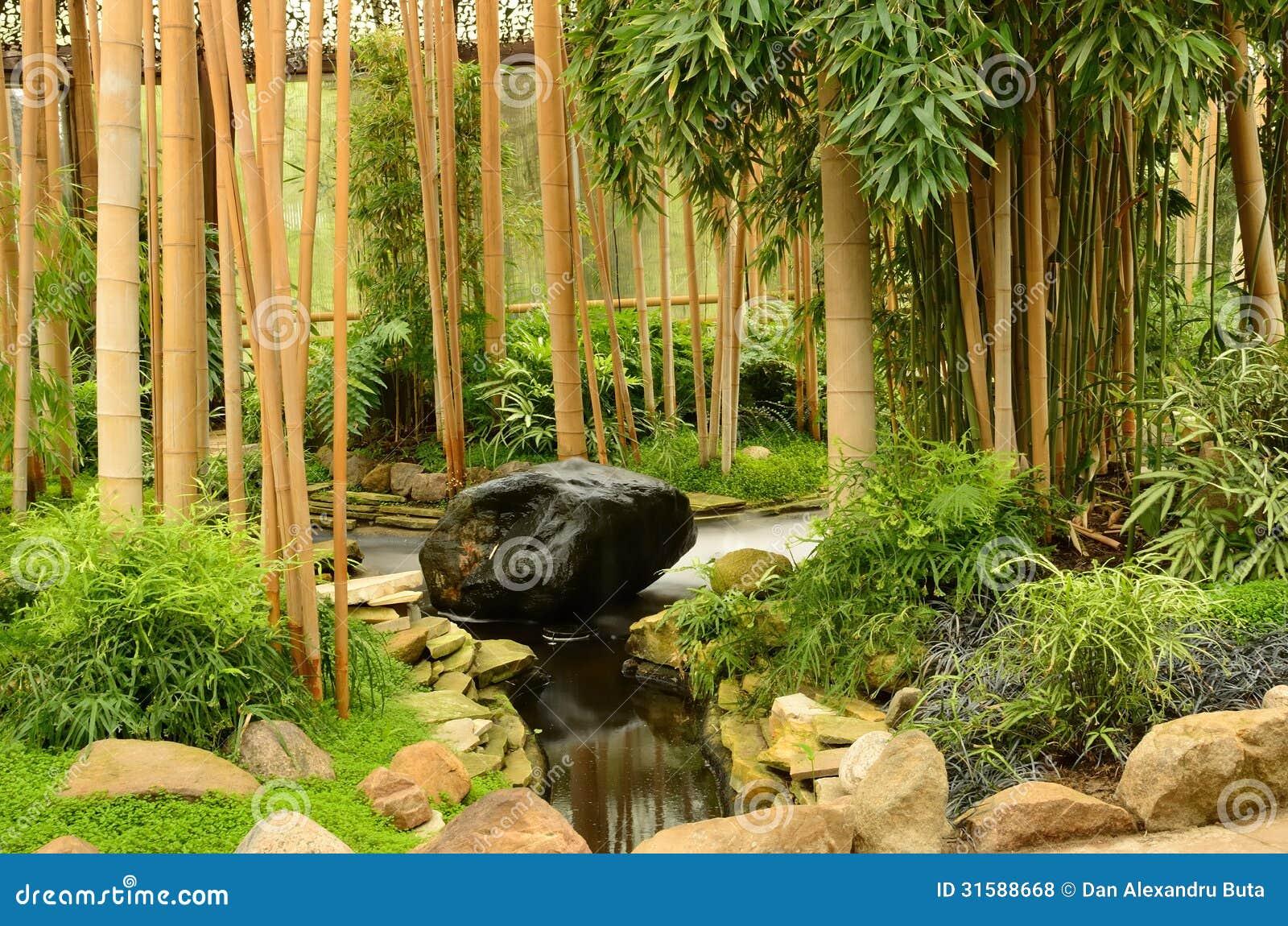Jardín del zen de la relajación