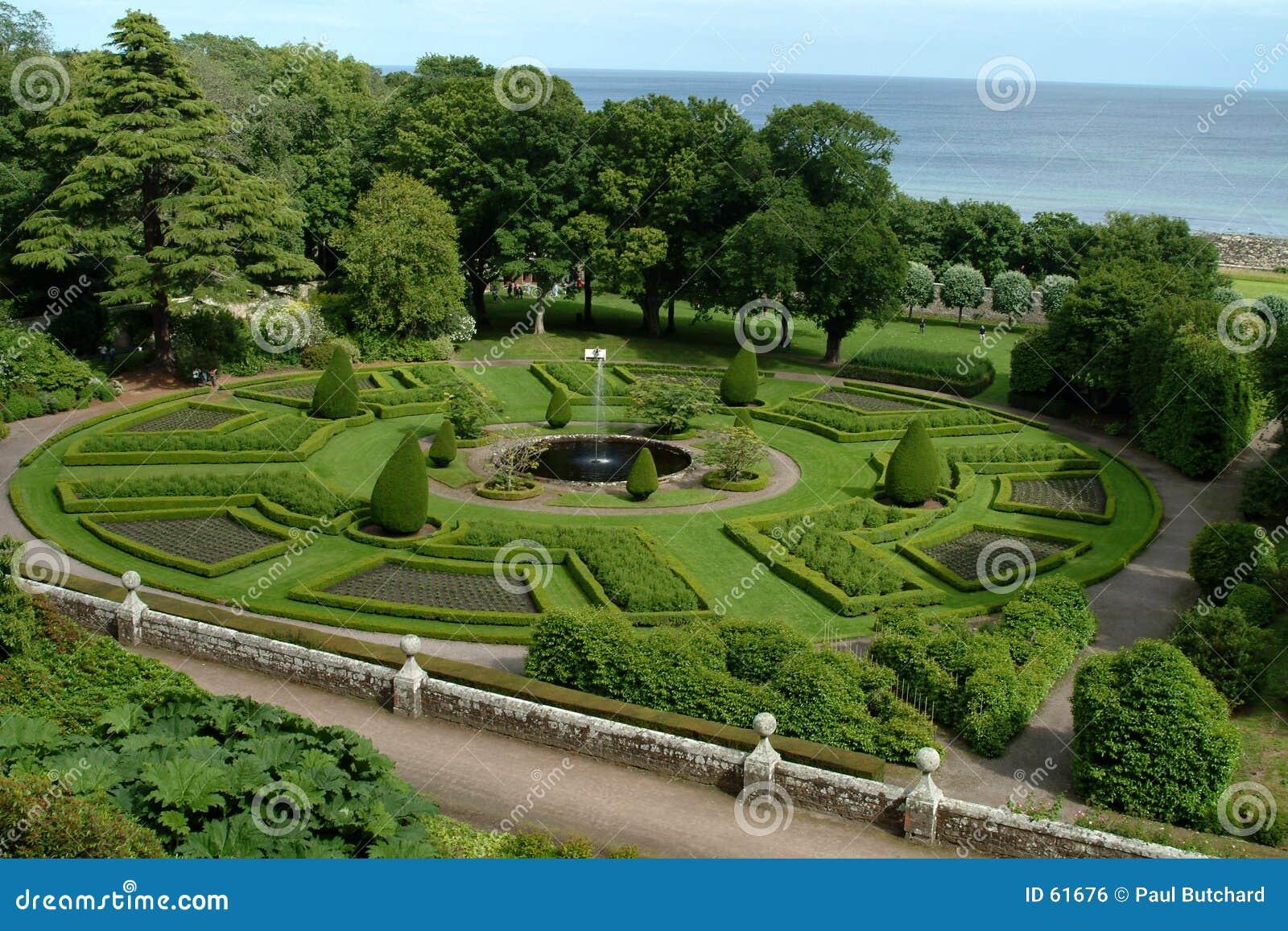 Jardín escocés