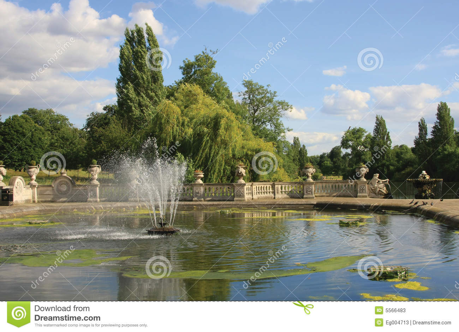 Jard n italiano en los jardines de kensington imagen de for Jardines de kensington