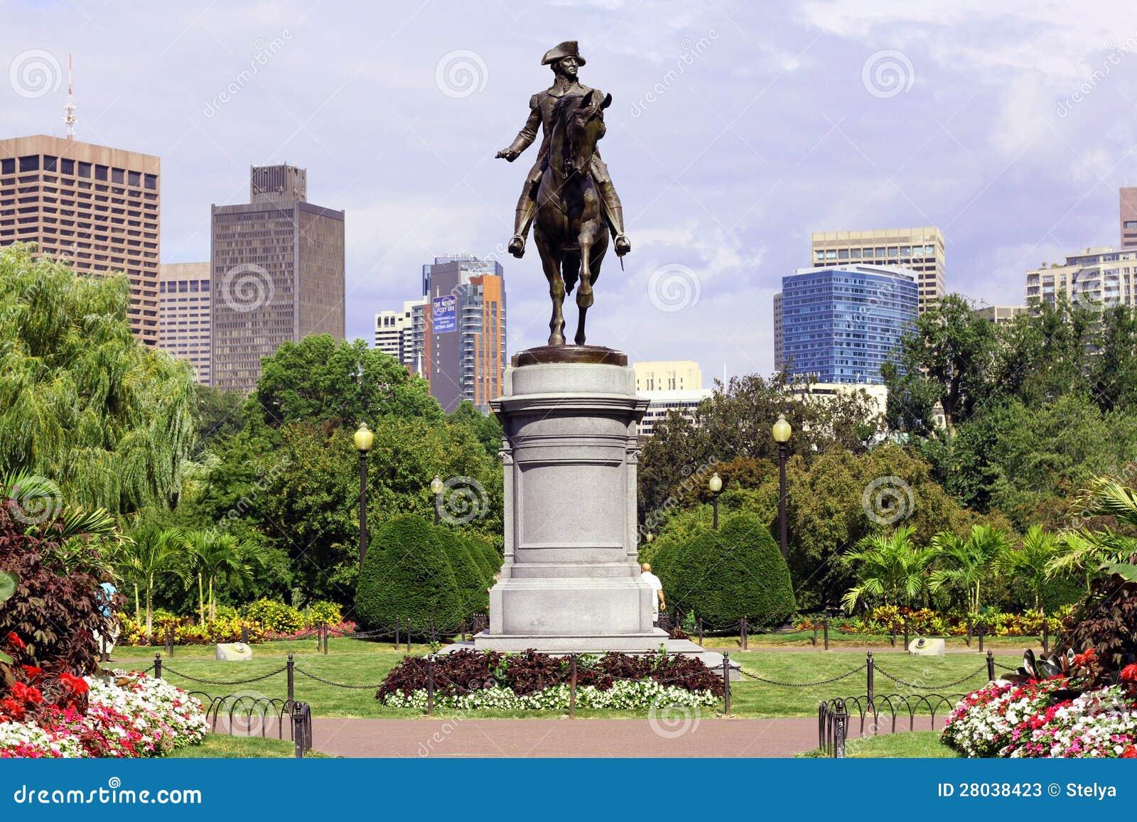 Jardín público de Boston