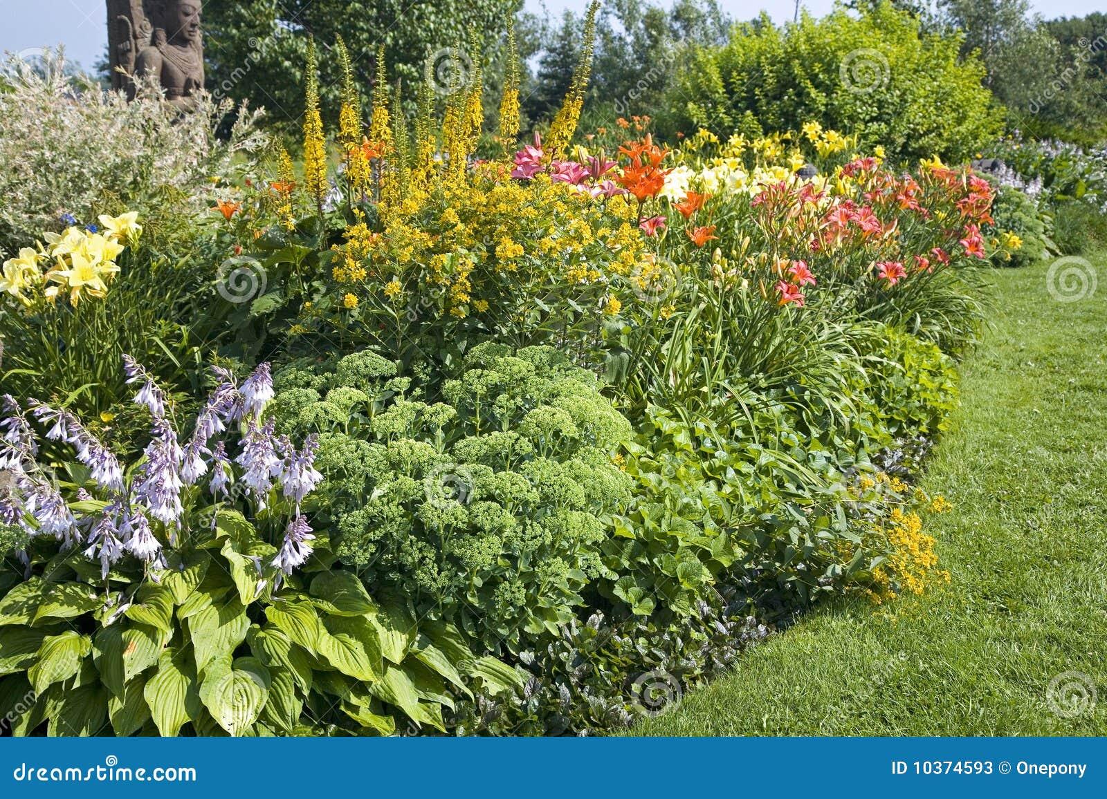 Jardín perenne