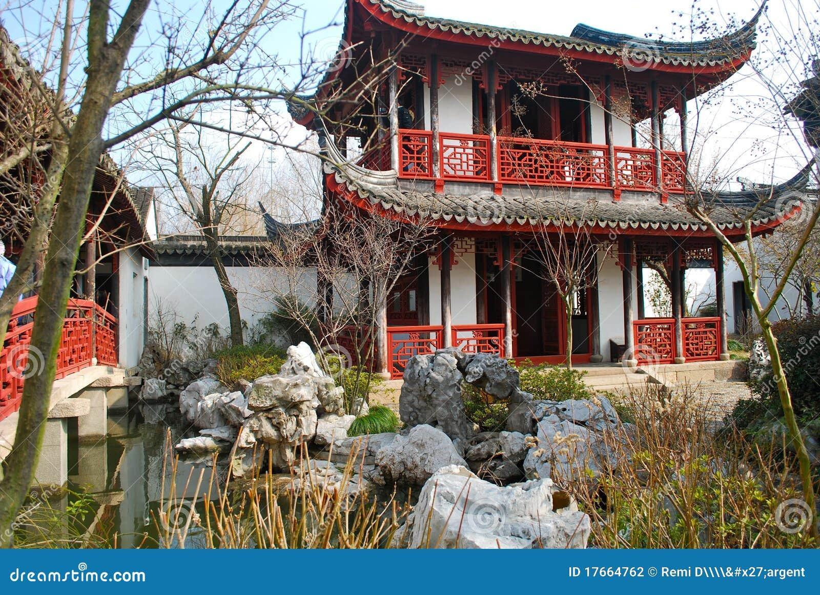 Jard n suzhou china de la residencia de los poetas for Jardin de china