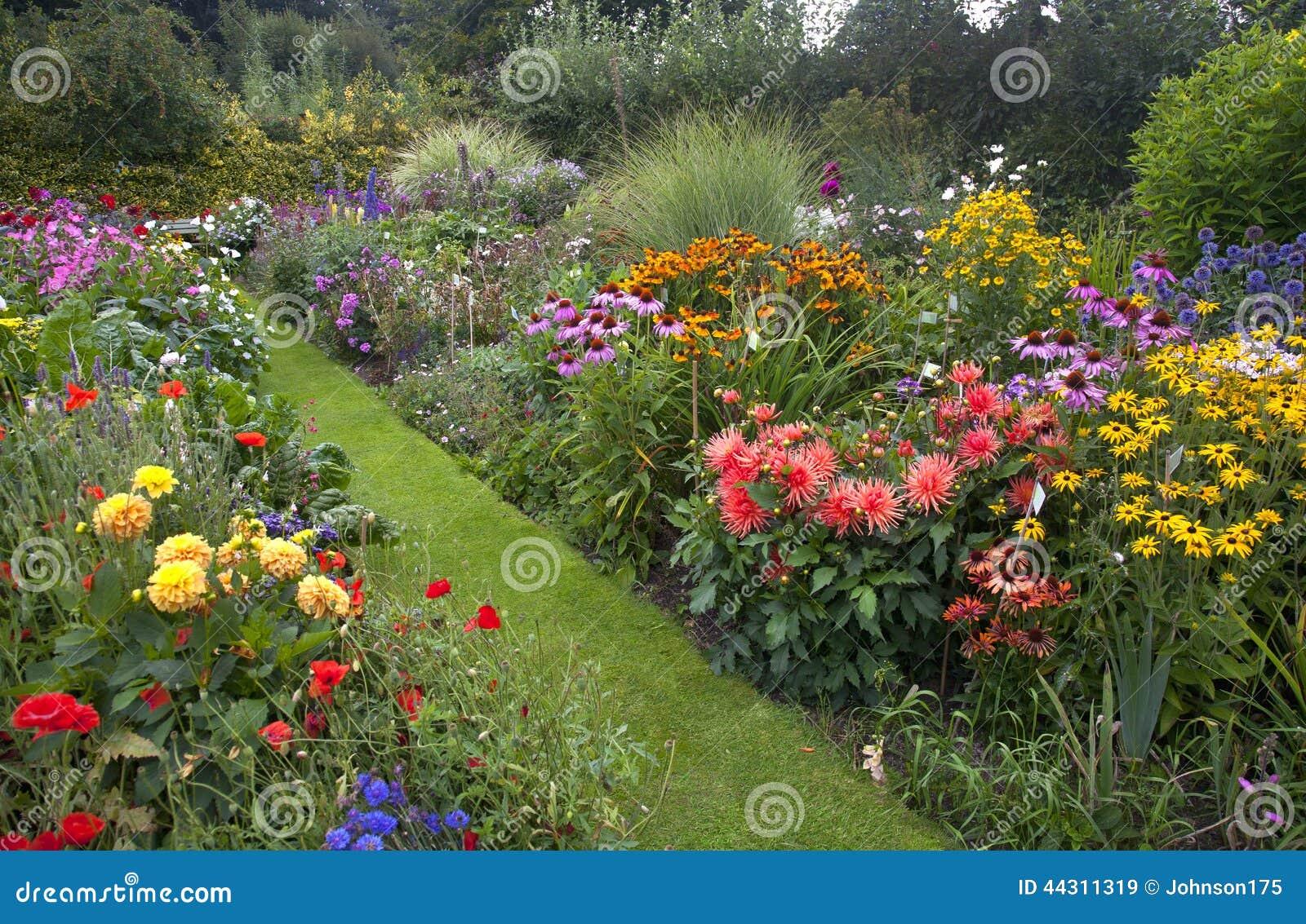 Jardim da casa de campo
