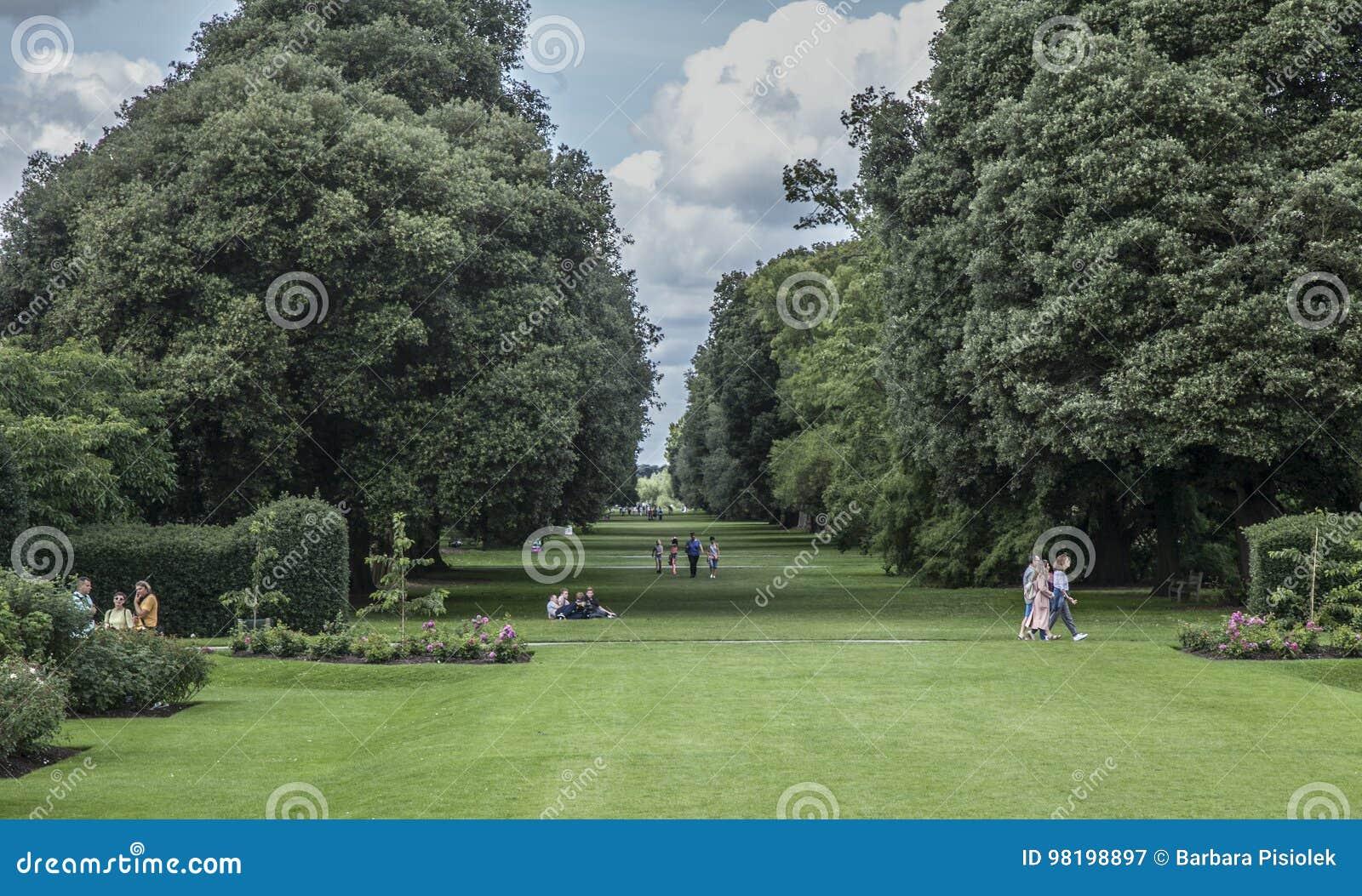 Jardim de Kew, o parque