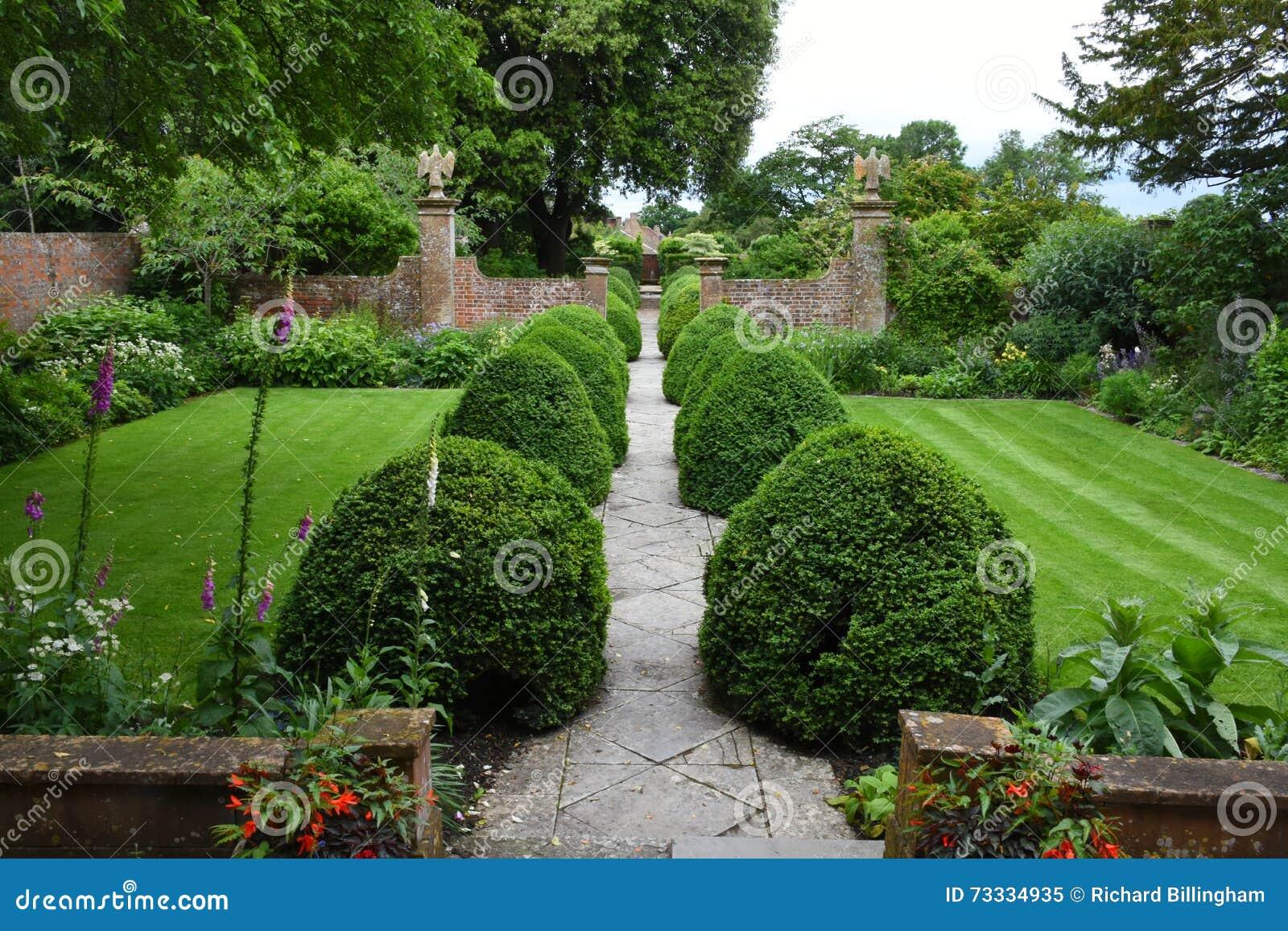 Jardim de Tintinhull, Somerset, Inglaterra, Reino Unido