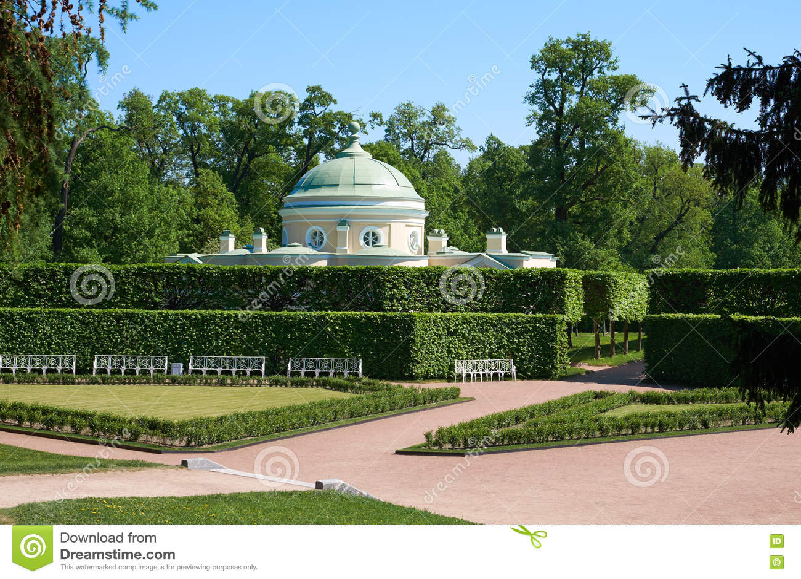 Jardim do parque de Catherine alcove