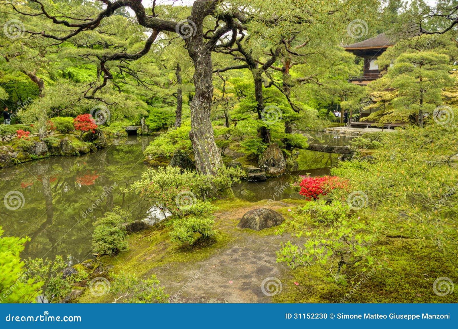 Jardim do zen, templo de Ginkakuji, Kyoto