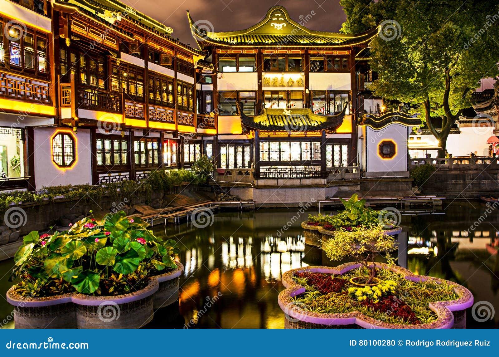 Jardim e bazar de Yu