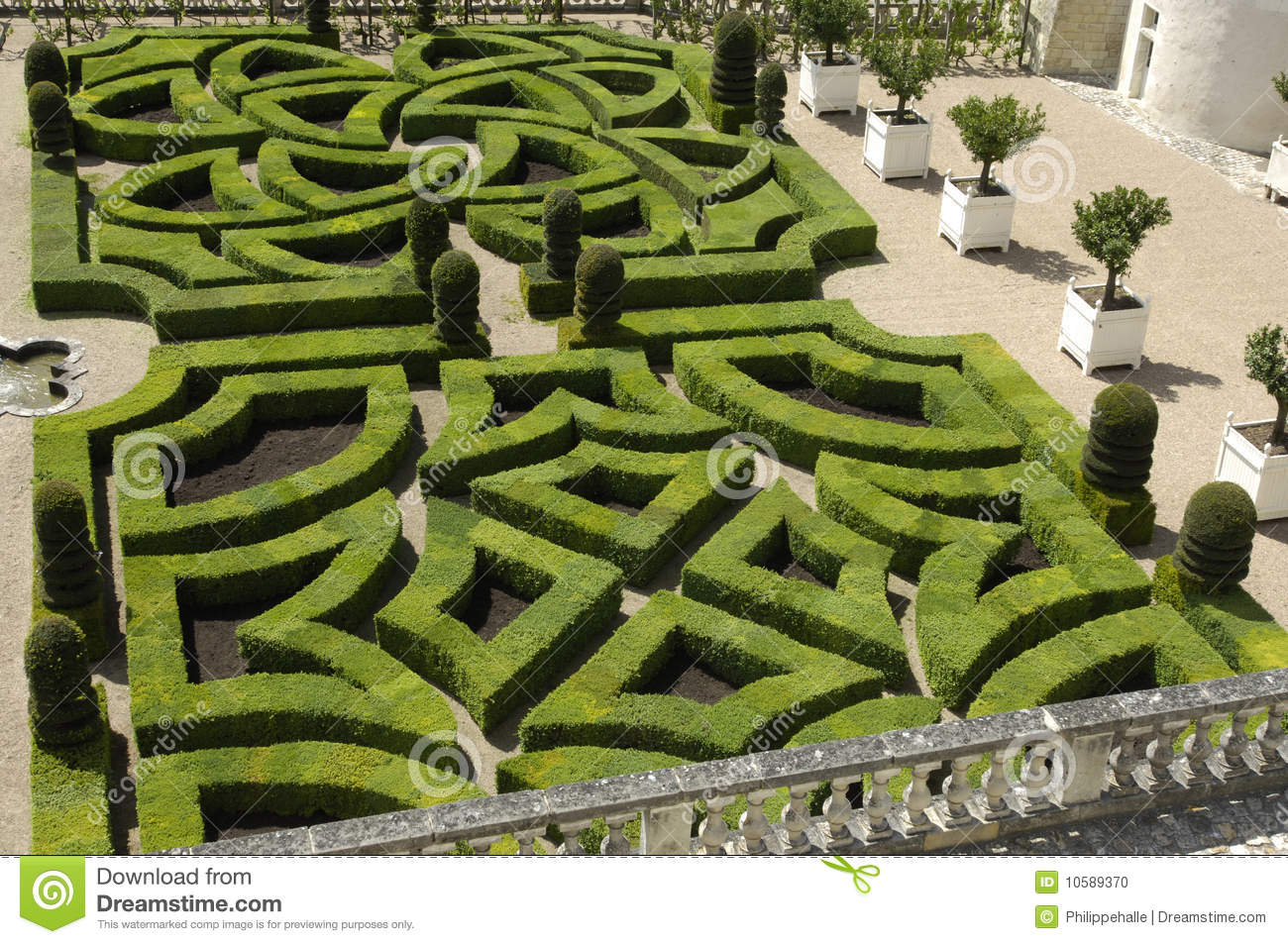 fotos jardim horizontal:French Formal Garden