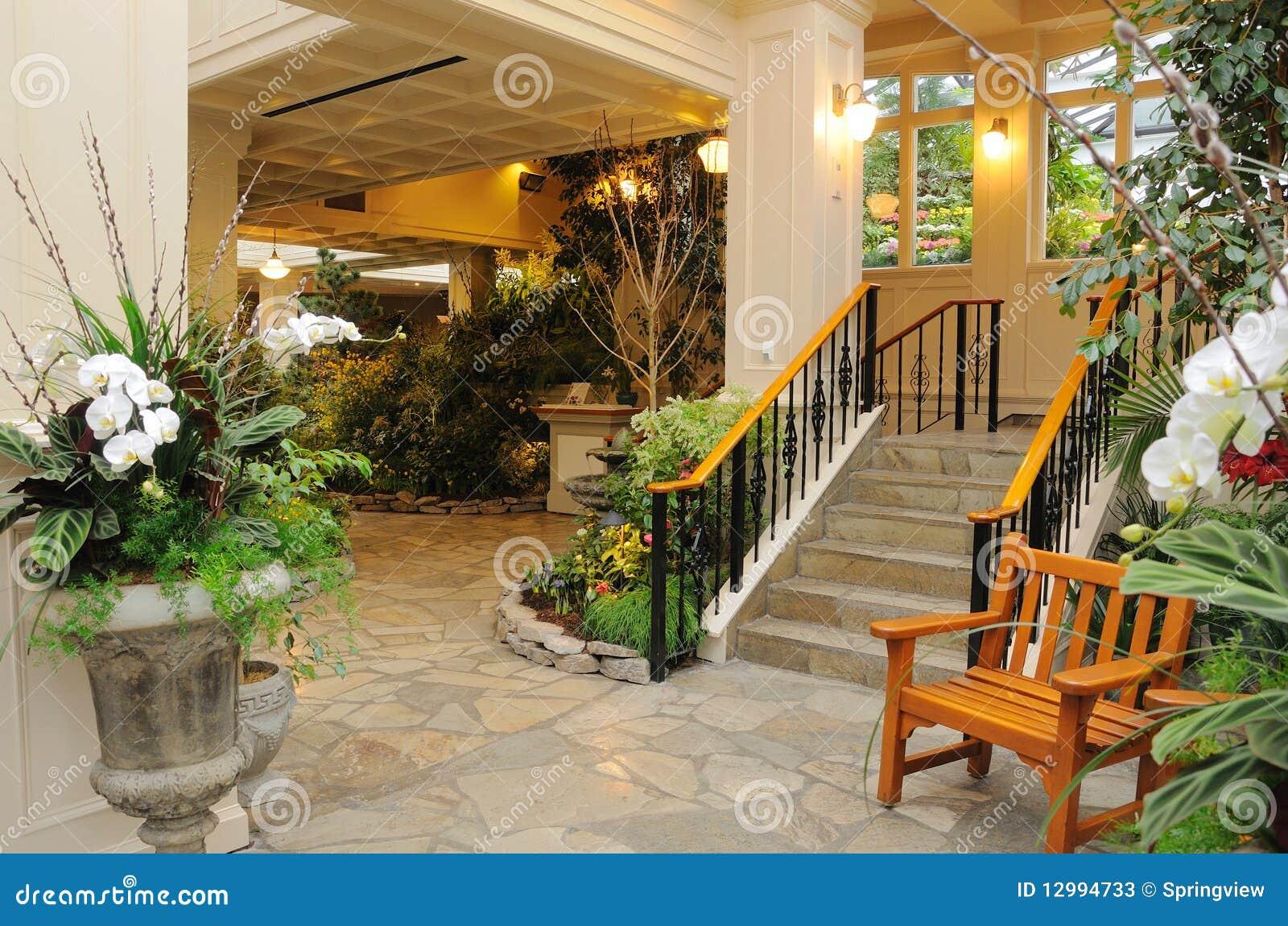 fotos de jardim interno:Indoor Wintergarden
