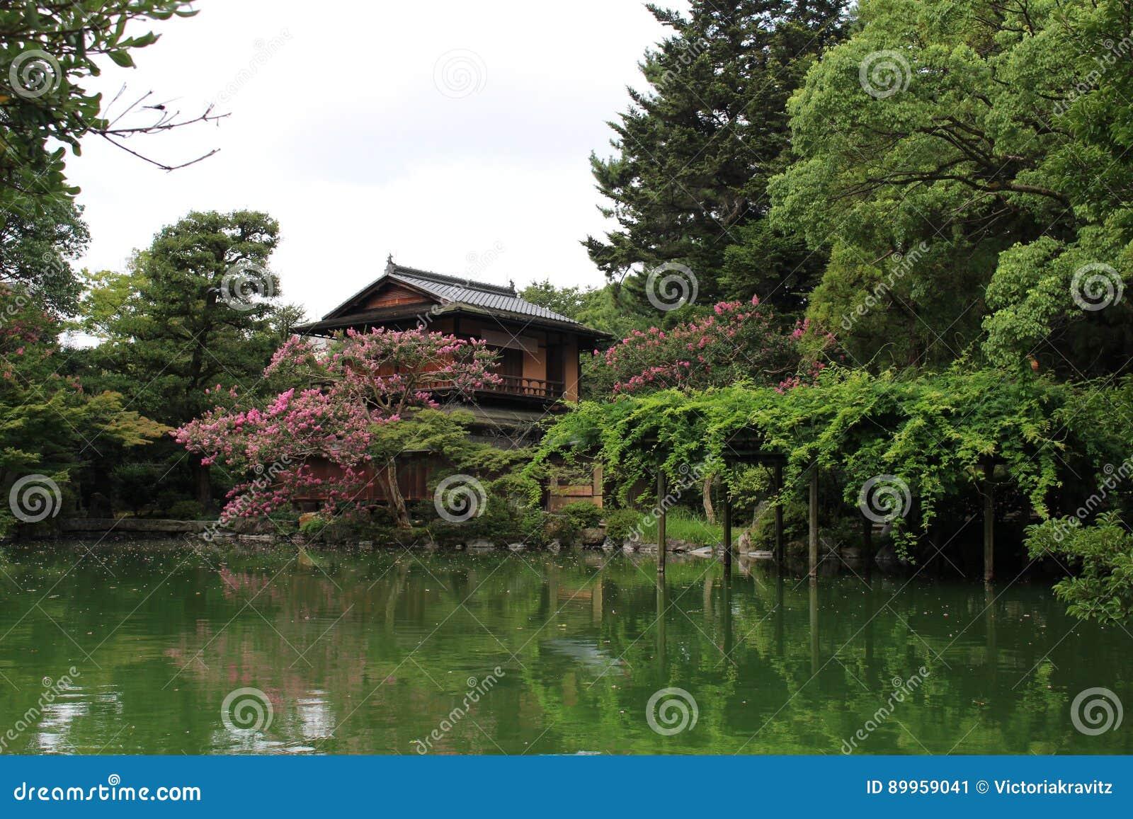 Jardim japonês em Kyoto