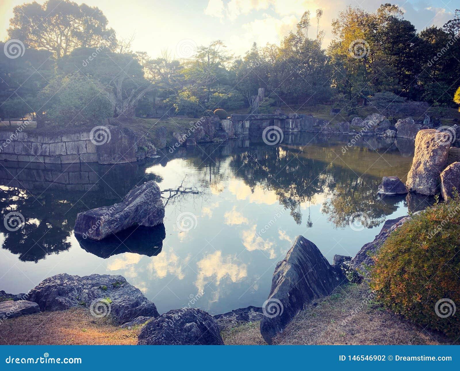 Jardim japon?s em Kyoto