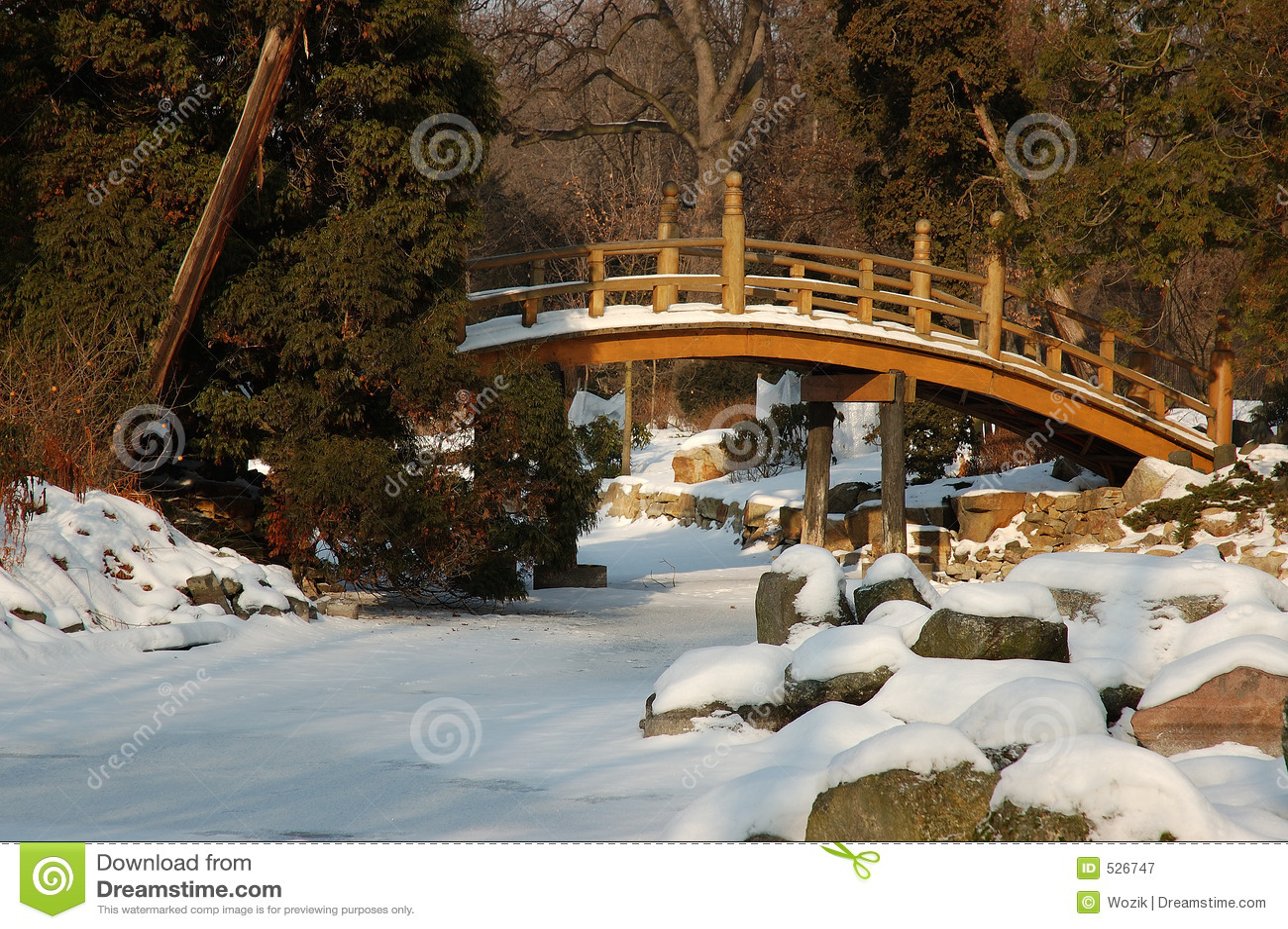 Jardim nevado