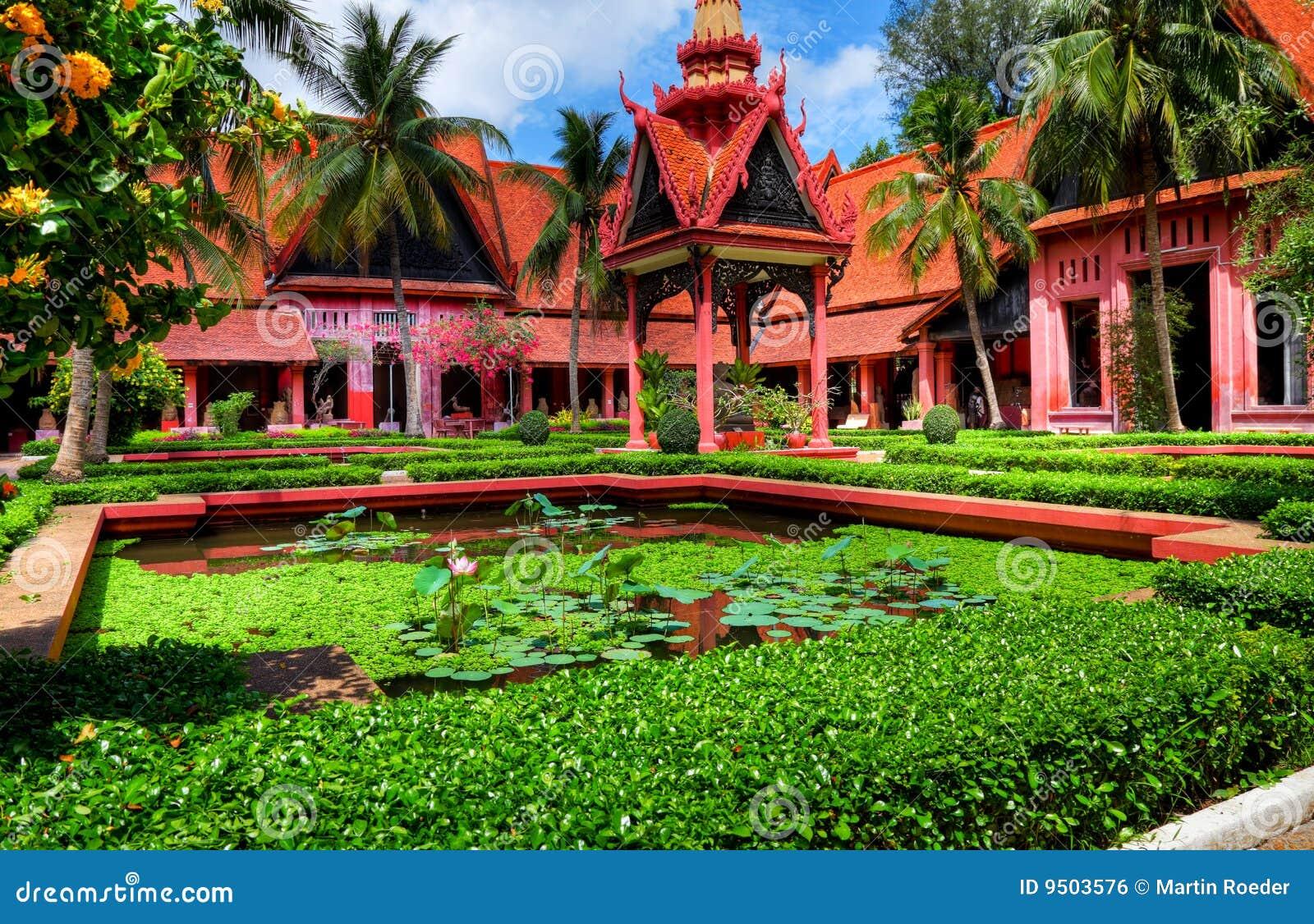 Jardim Phnom Penh - Cambodia (HDR)