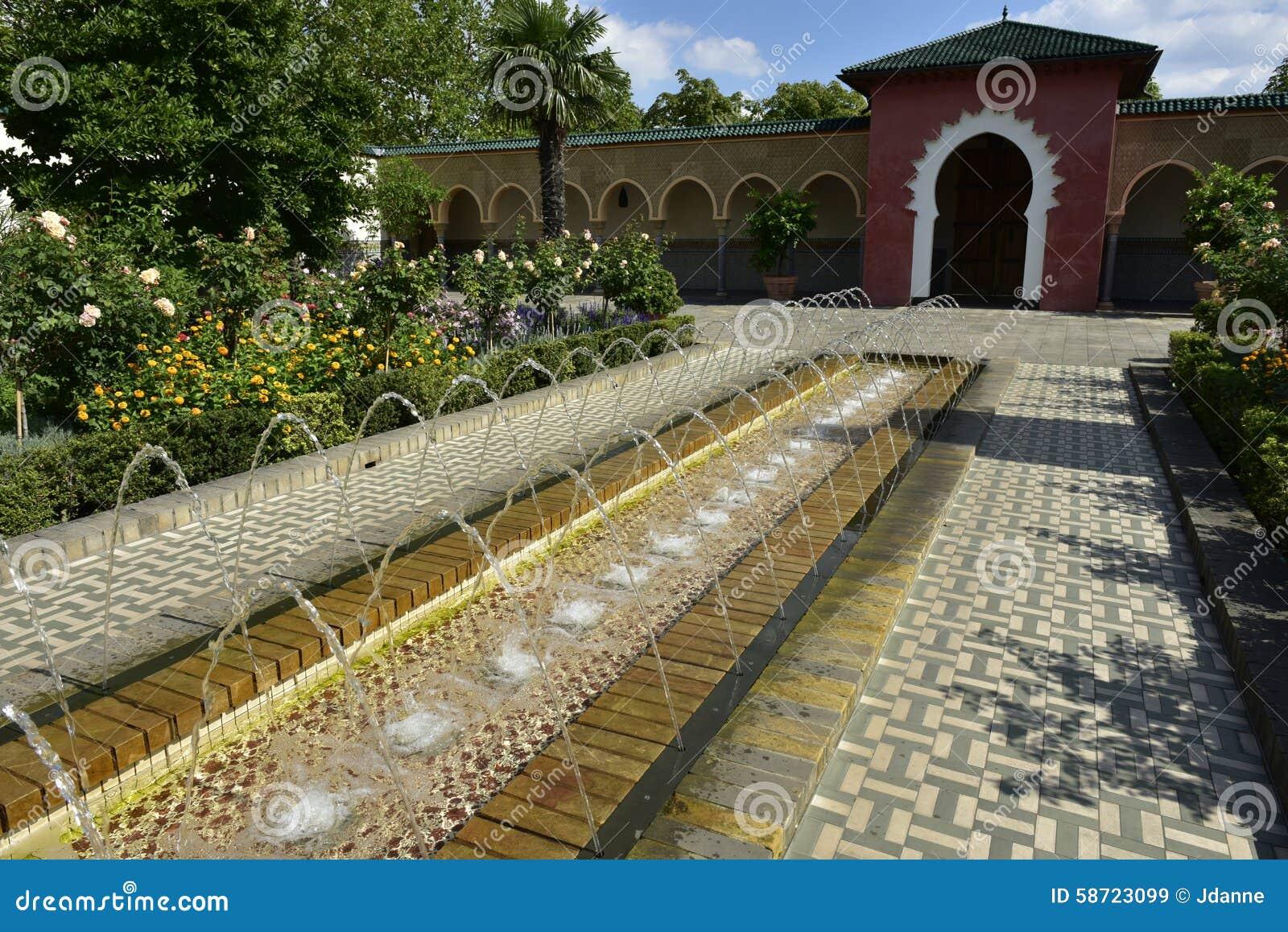 Jardin Arabe Berlin Allemagne Image Stock Image Du Tourisme - Jardin-arabe