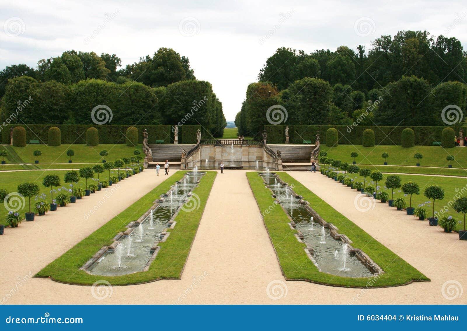 jardin baroque images stock image 6034404. Black Bedroom Furniture Sets. Home Design Ideas