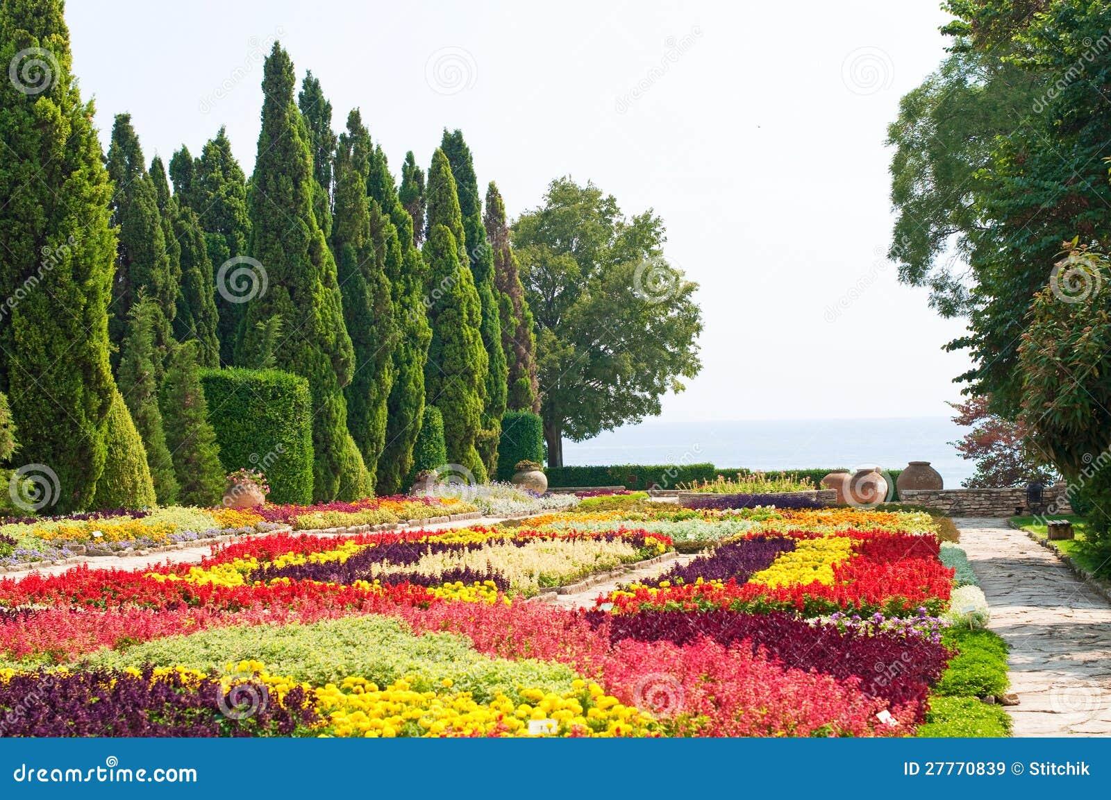 Jardin botanique. La Bulgarie