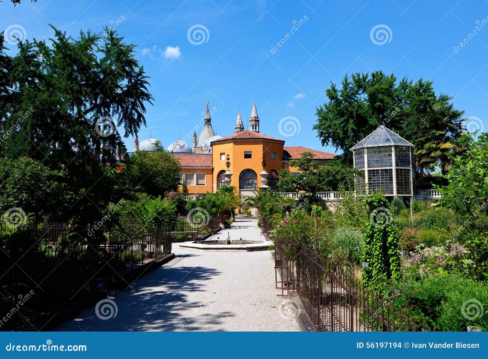Jardin botanique padoue italie photo stock image 56197194 for Jardin italien