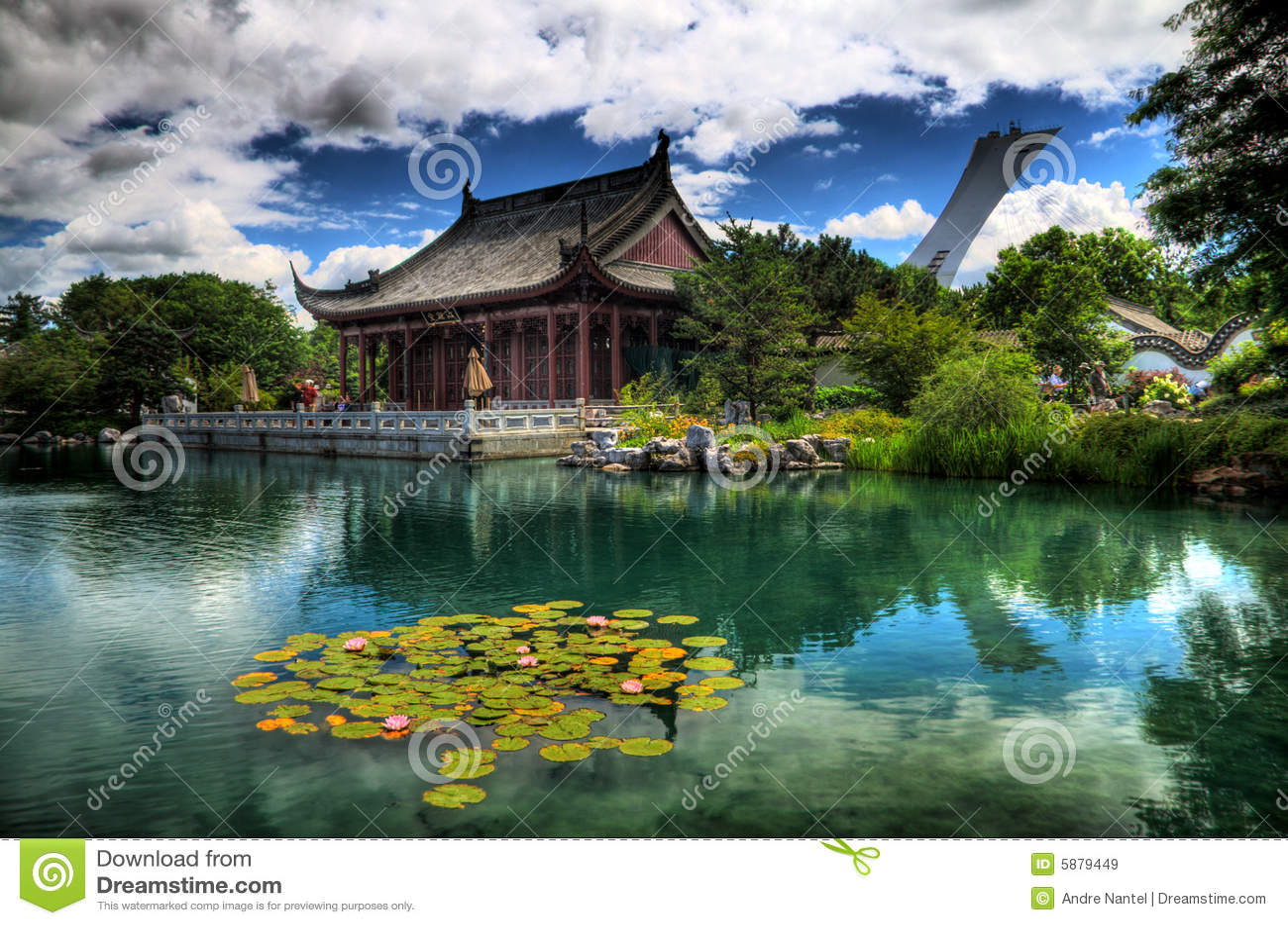 Jardin chinois image stock image du stade asiatique for Jardin chinois