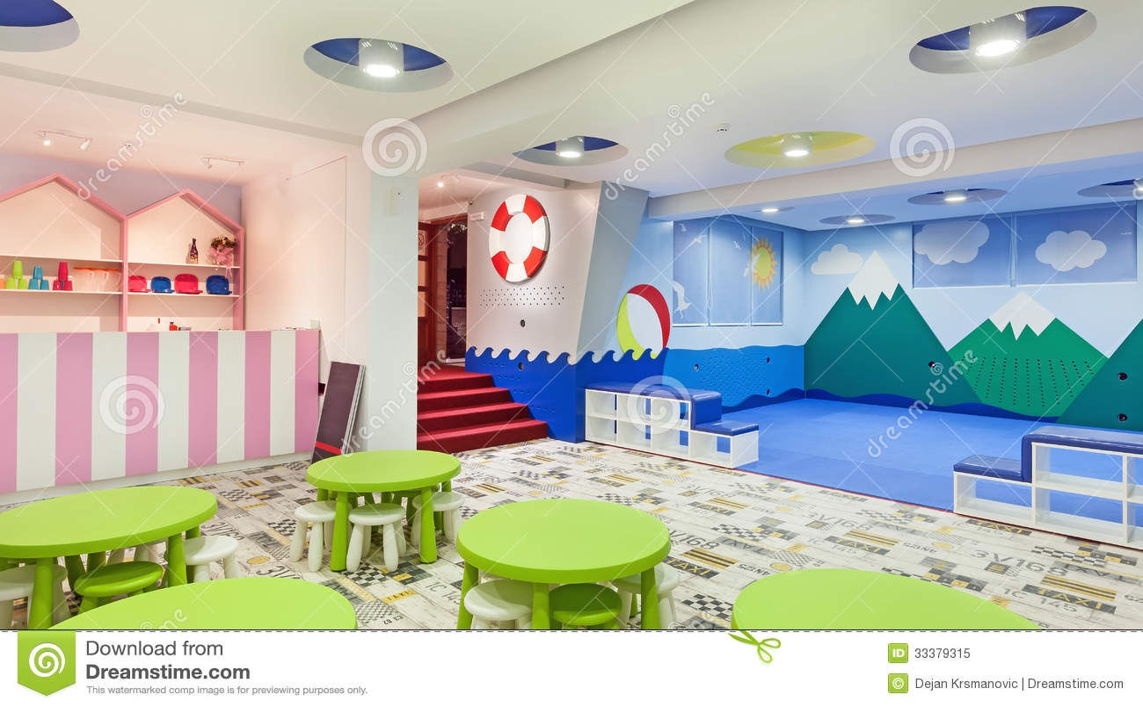 Jardin d 39 enfants photo libre de droits image 33379315 for Au jardin d enfant