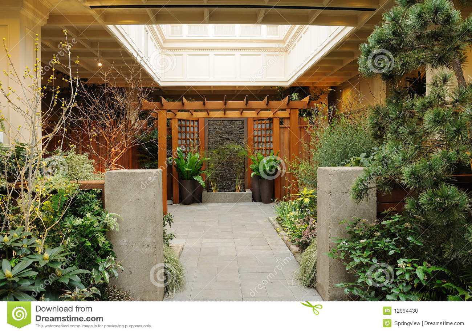 Jardins D Interieur #7: Britannique Canada Colombie D Jardin ...