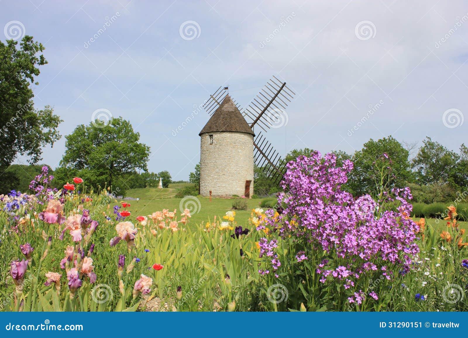 Jardin de moulin vent et d 39 iris dans le lot et garonne for Moulin a vent jardin