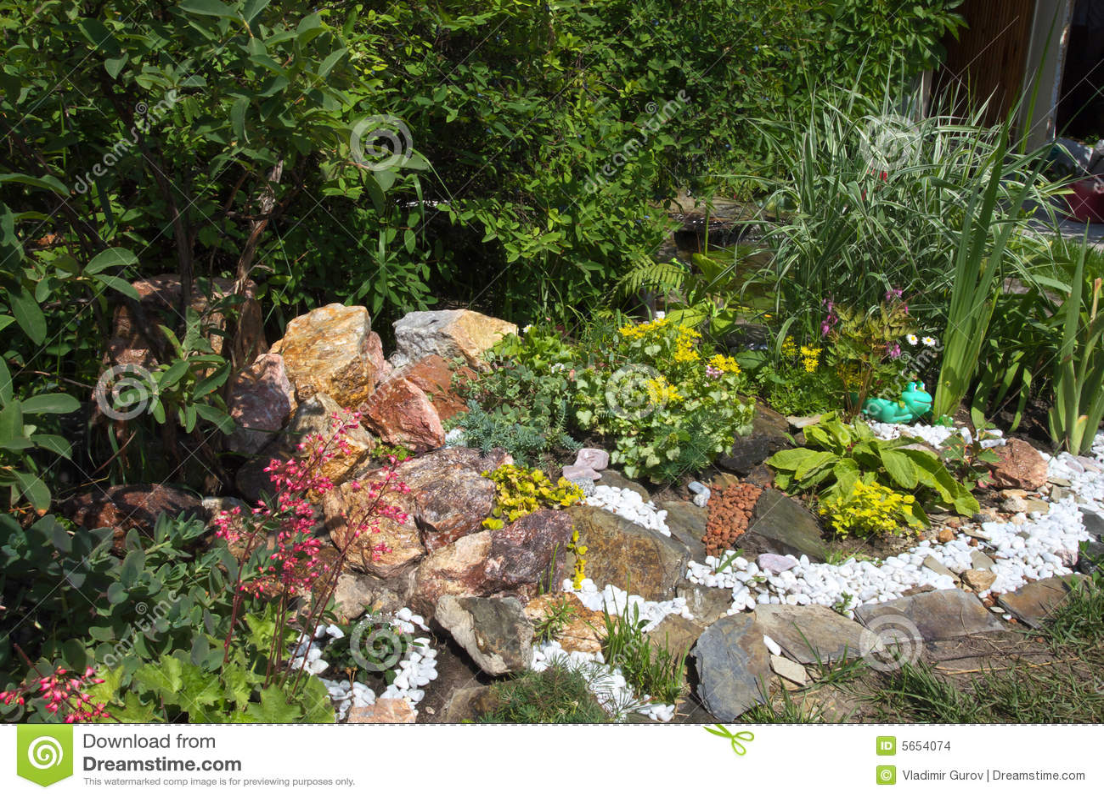 Jardin de rocaille images stock image 5654074 - Image de rocaille ...