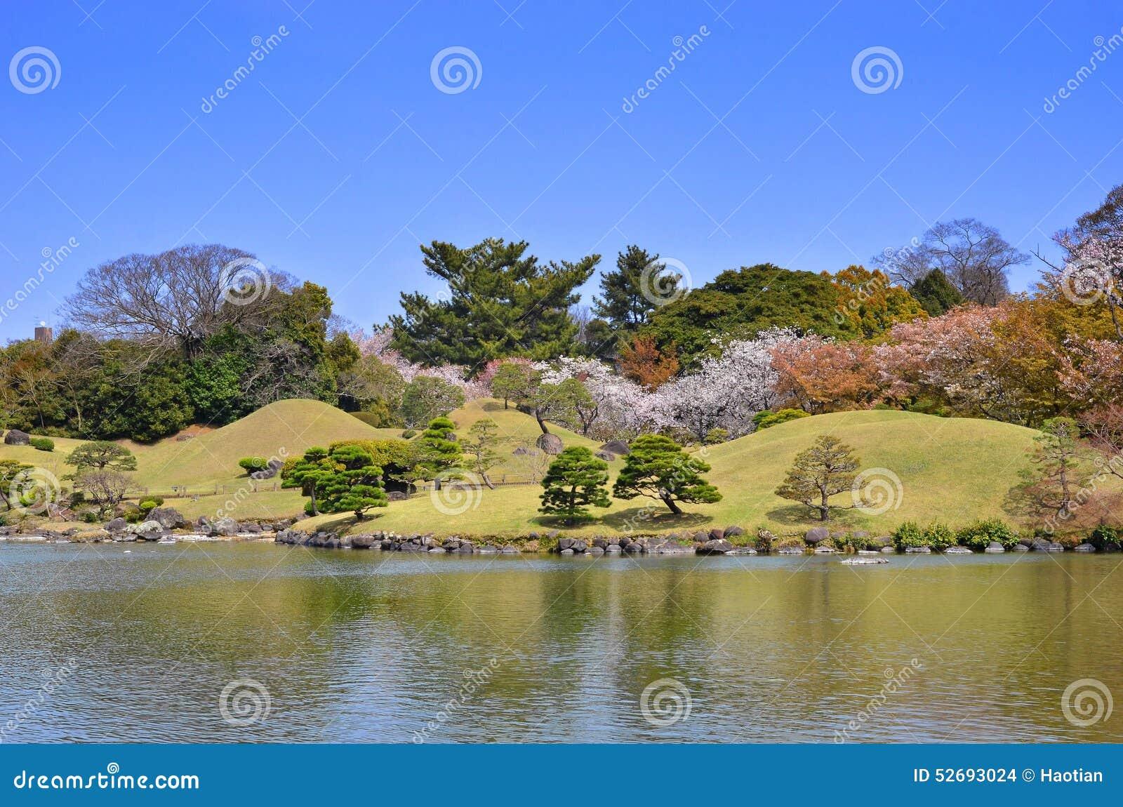 Jardin de Suizenji dans Kumamoto, Japon