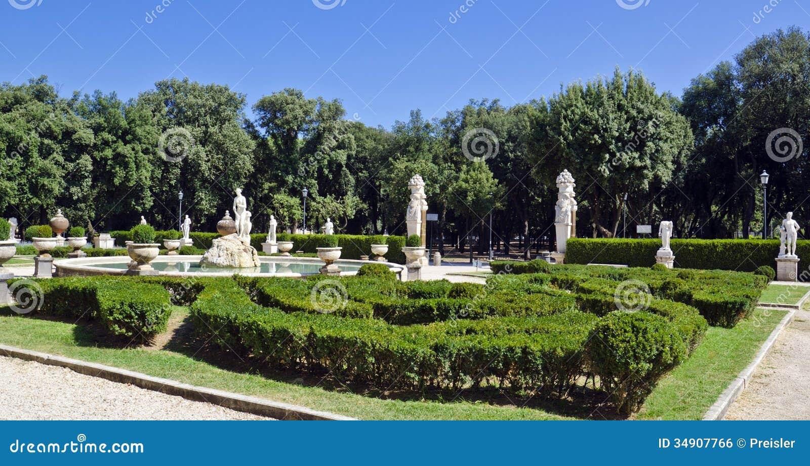 Jardin de v nus villa borghese image libre de droits for Le jardin de venus x