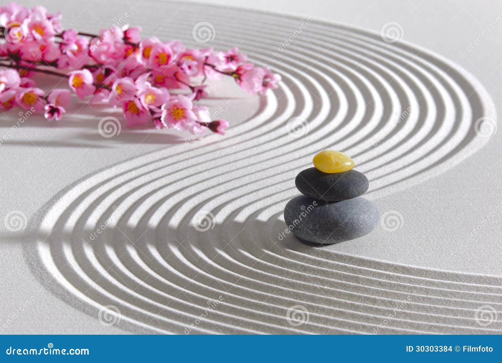 Jardin de zen du Japon