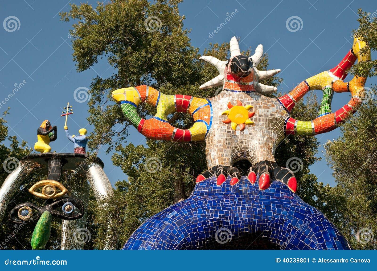 Jardin des cartes de tarot image stock image du saint for Carte jardin de tadine